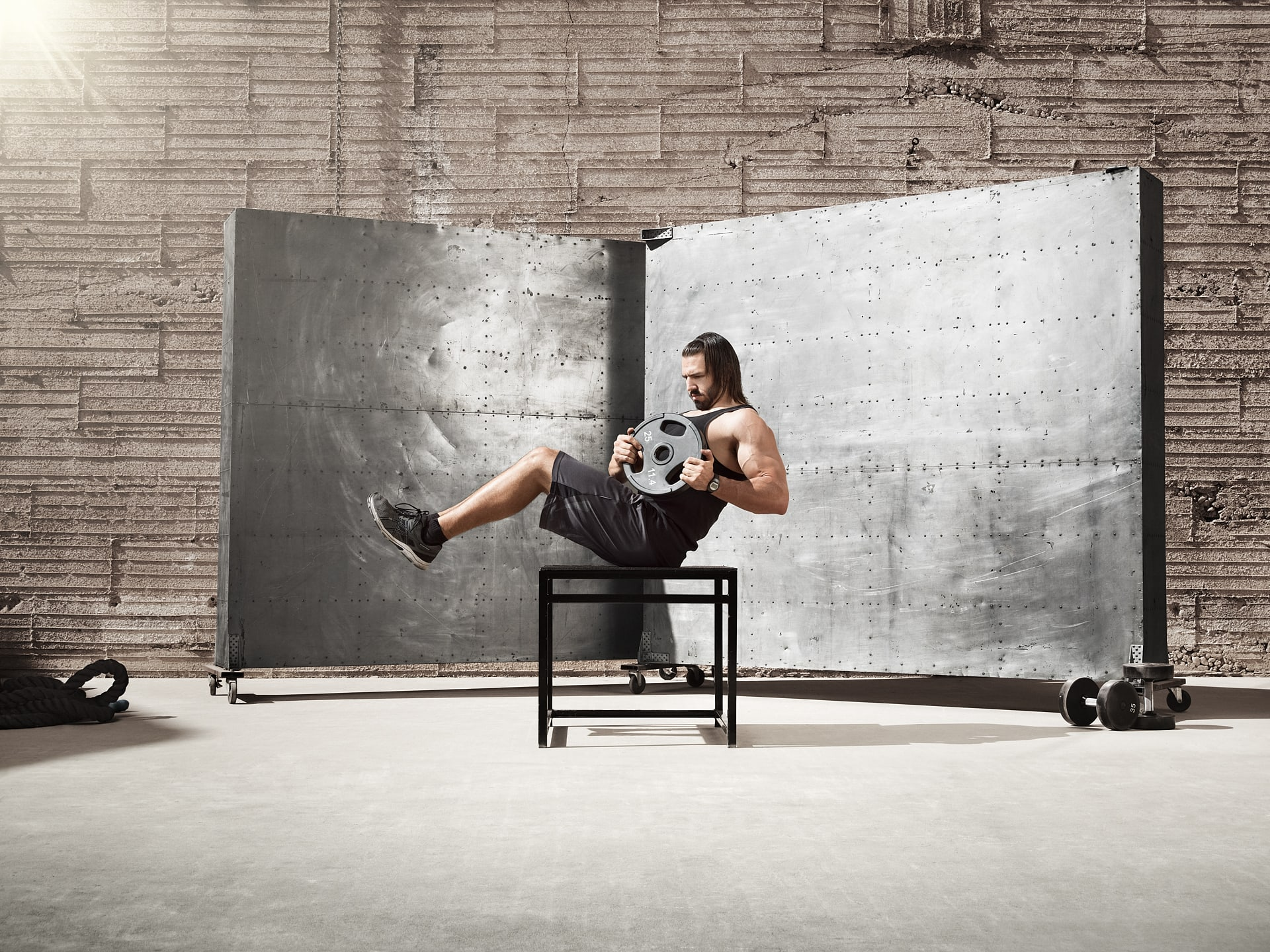 Fitness Advertising Photographer Blair Bunting