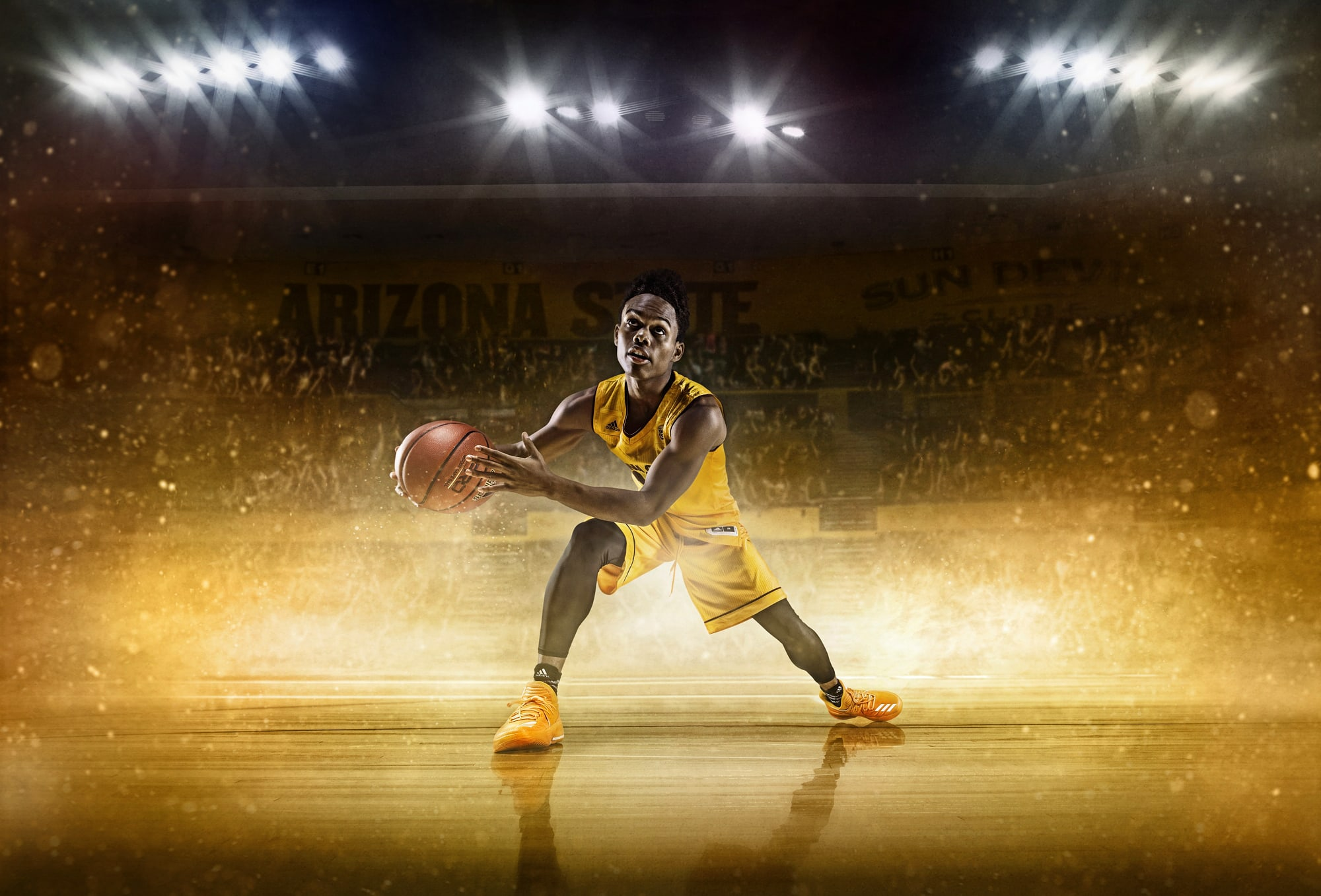 Basketball Advertising Campaign by Sports Photographer Blair Bunting