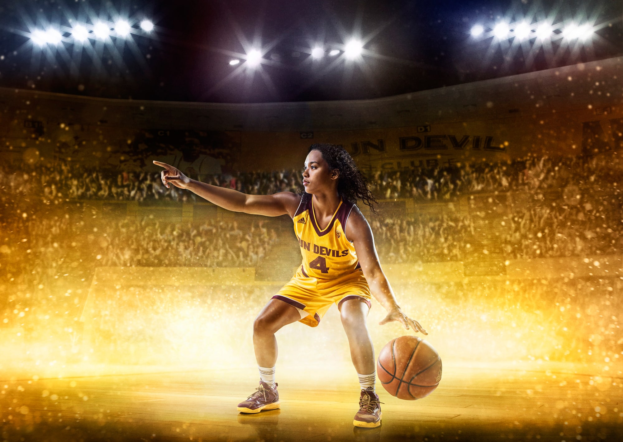 Conceptual Sports Photography Campaign