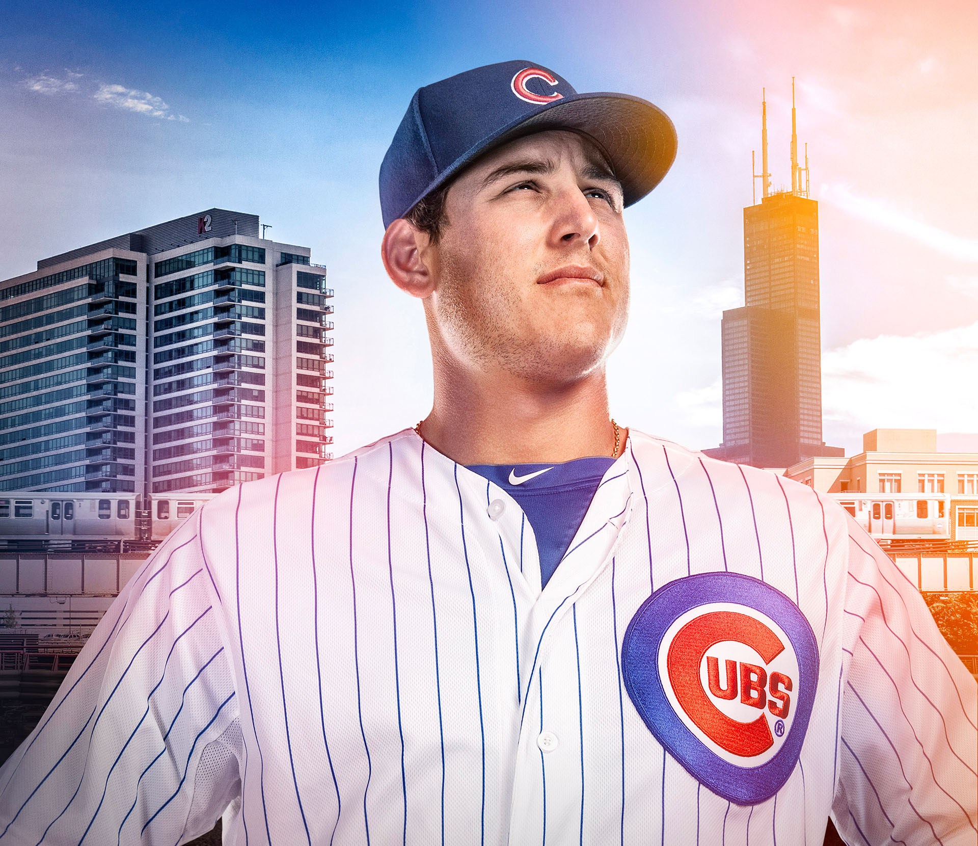 Chicago Cubs Anthony Rizzo Photoshoot