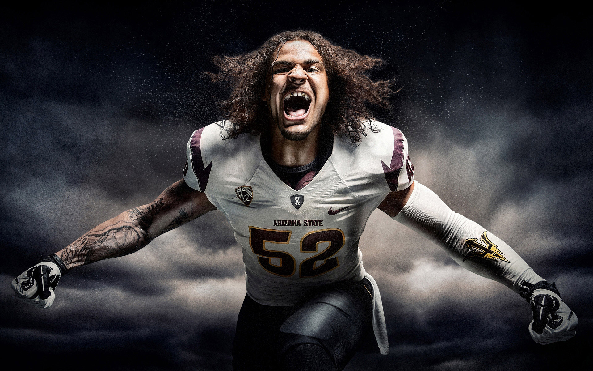 Arizona State Football campaign photographer