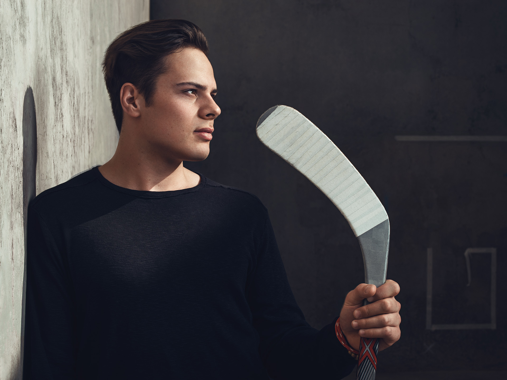 Auston Matthews Fashion photoshoot by Blair Bunting