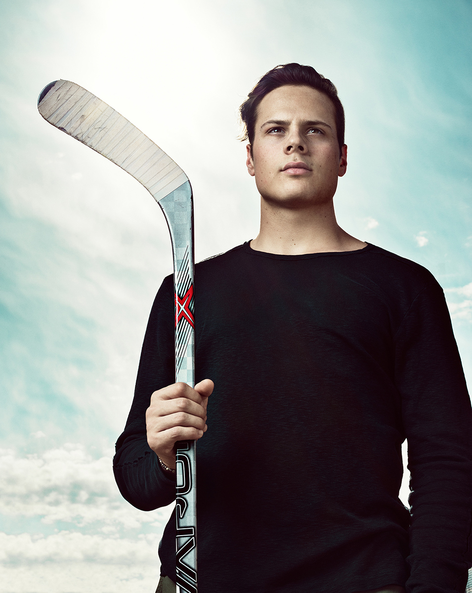 Auston Matthews Sportsnet Magazine Cover