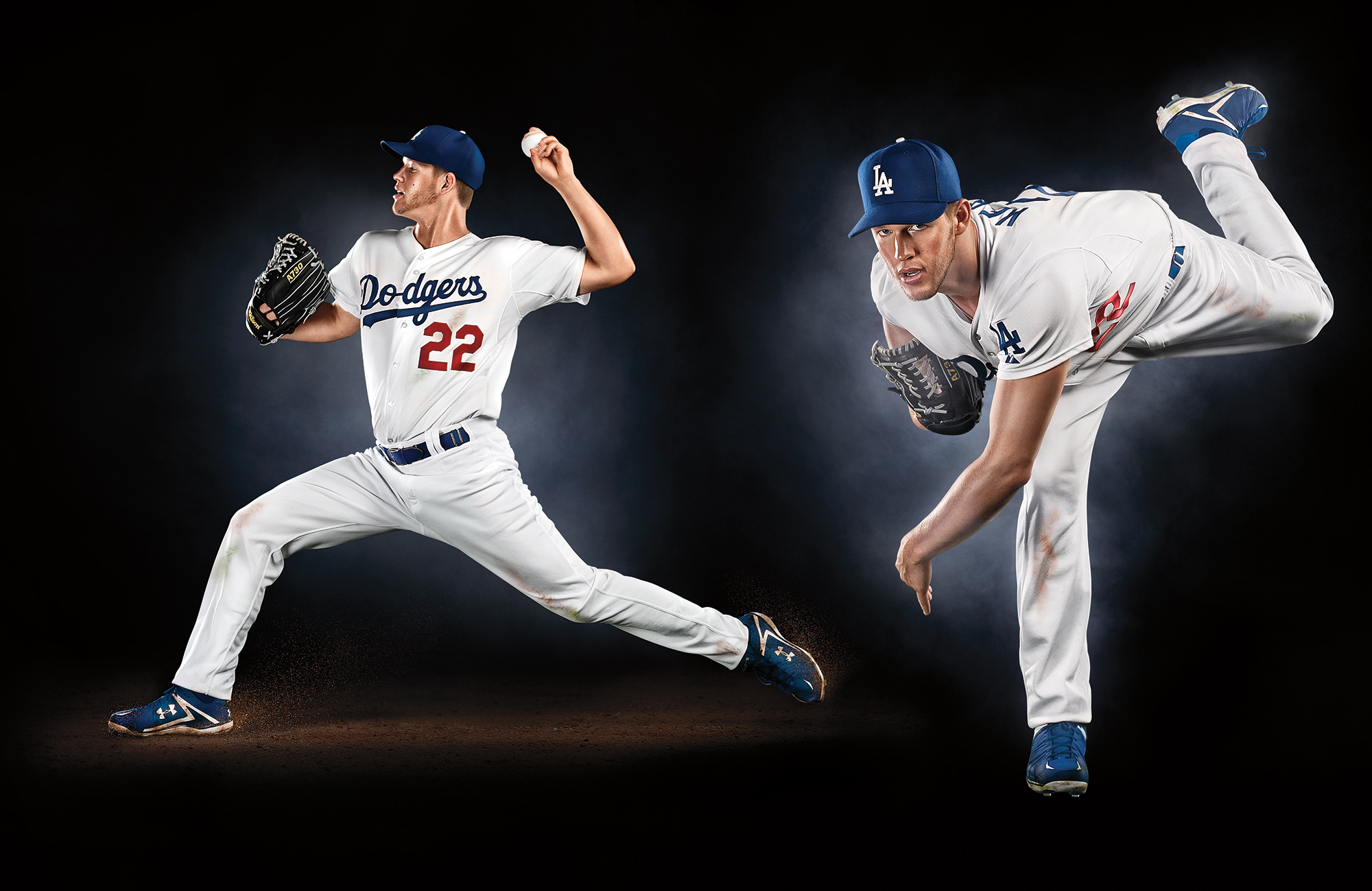 Clayton Kershaw photoshoot by Blair Bunting Los Angeles