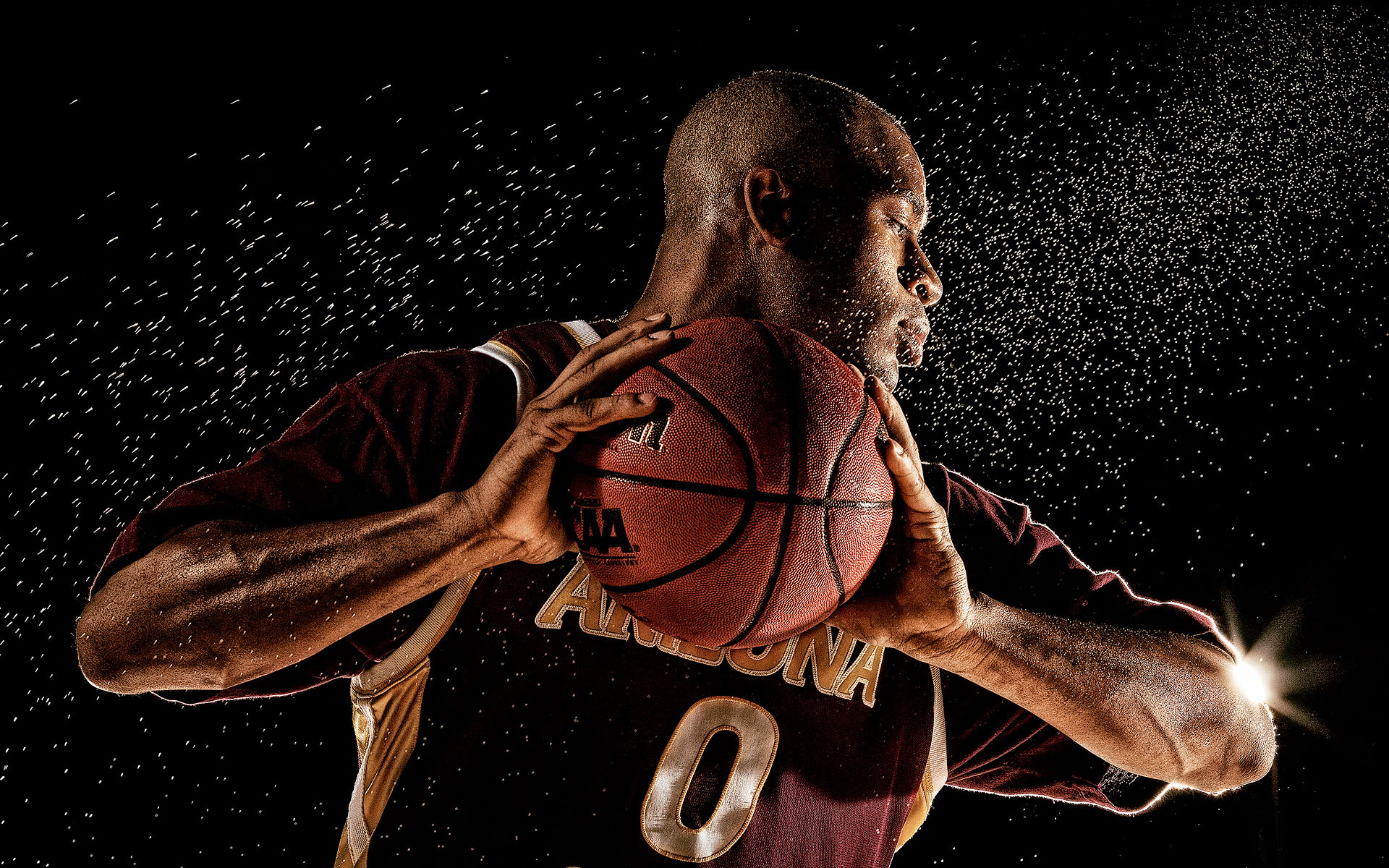 Basketball Advertising Photographer Blair Bunting