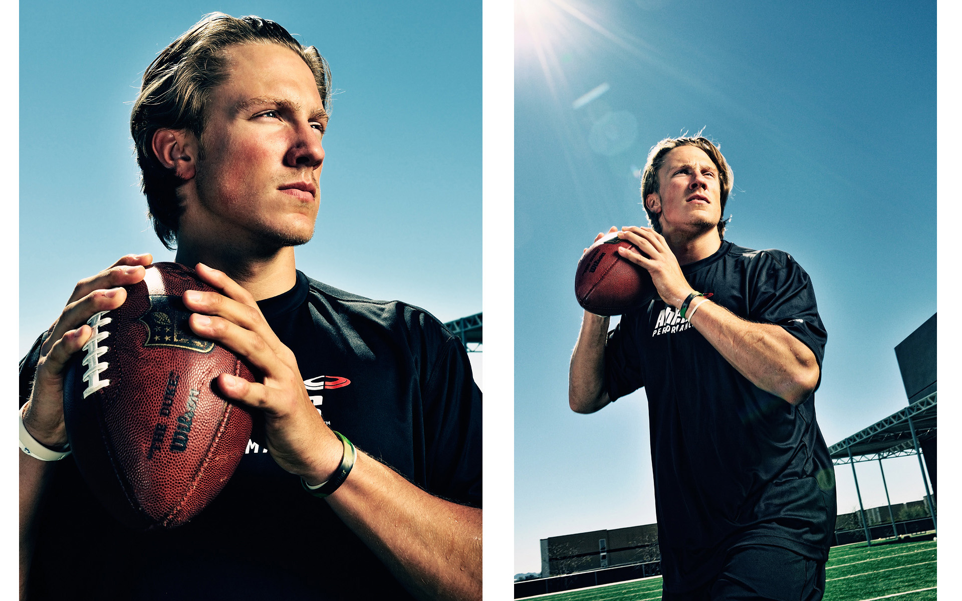 Blaine Gabbert portrait for ESPN Magazine