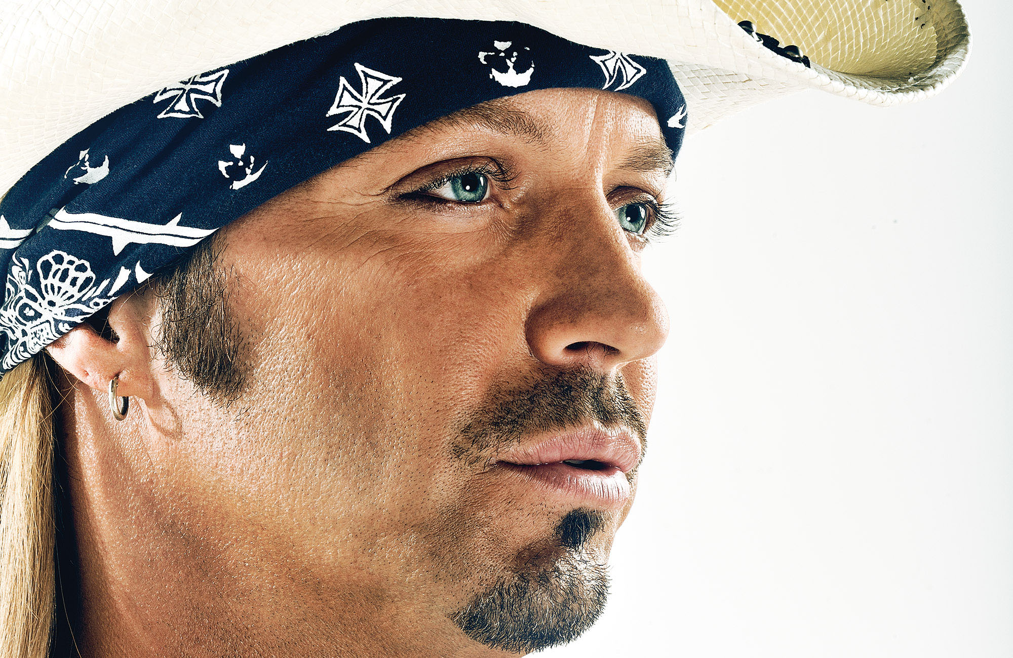 Celebrity photographer Blair Bunting photographs Bret Michaels