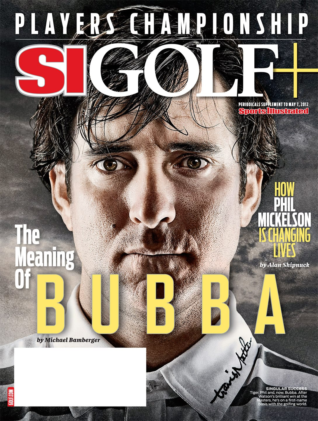 Bubba Watson Sports Illustrated Cover by Blair Bunting