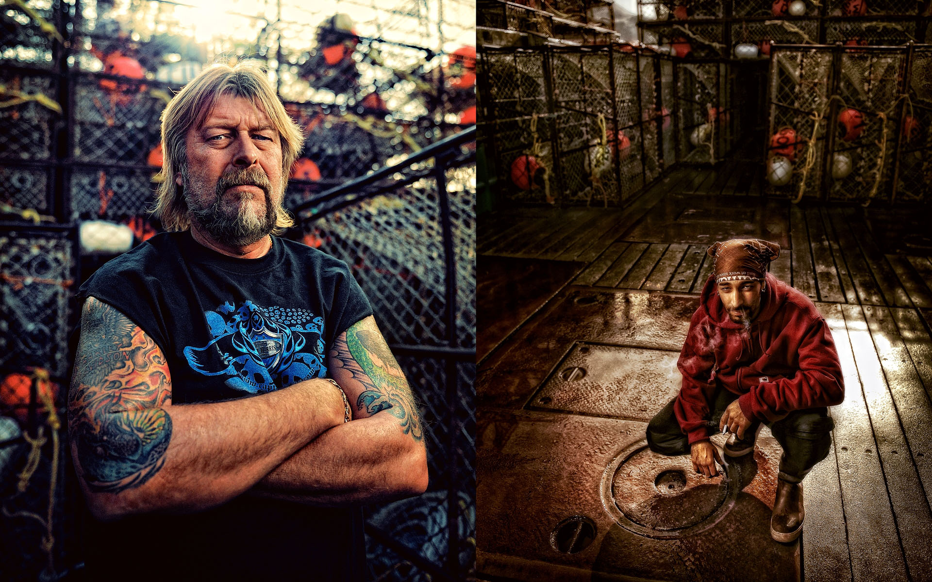 The Deadliest Catch set photographer Blair Bunting