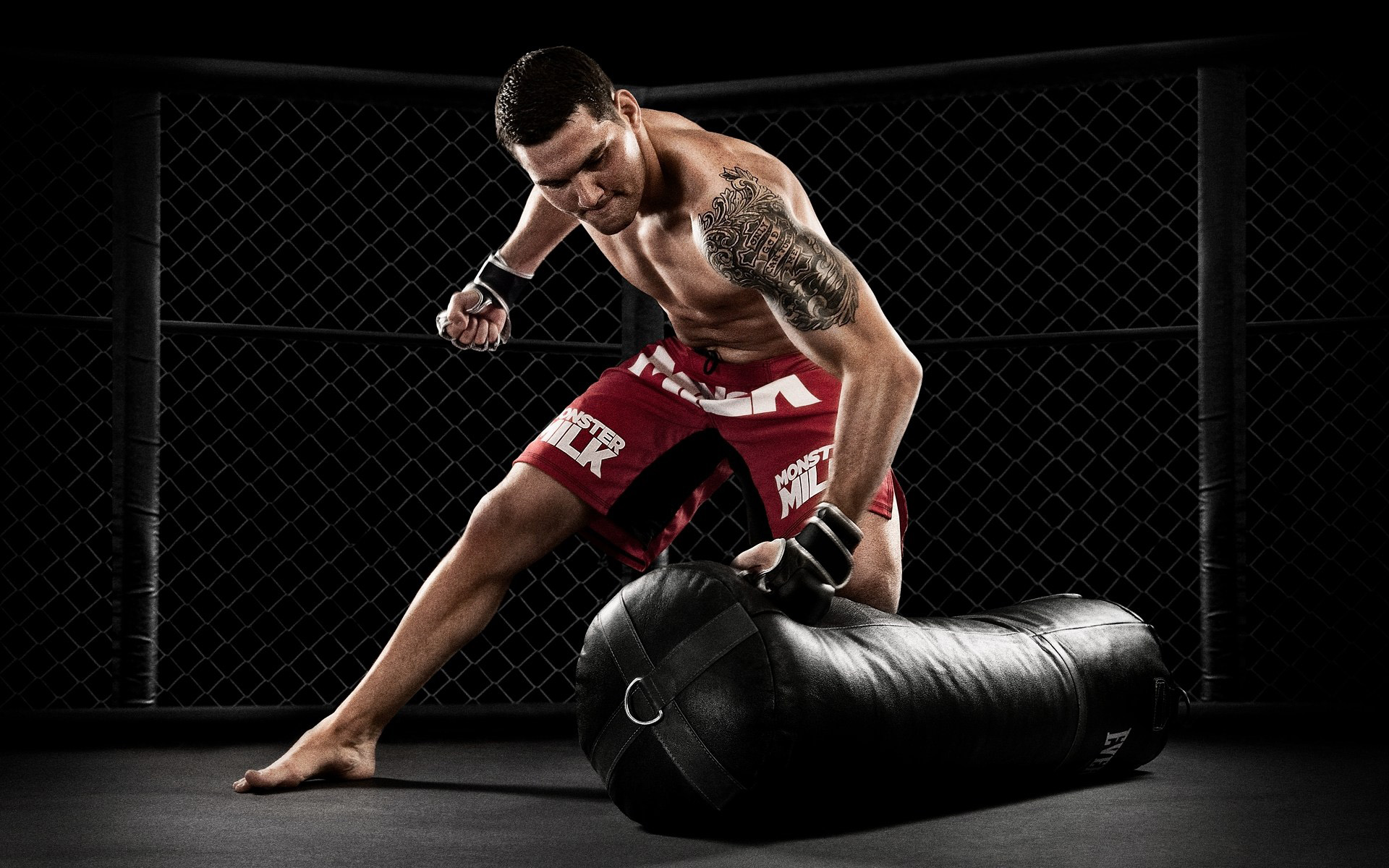 Chris Weidman photographer Blair Bunting