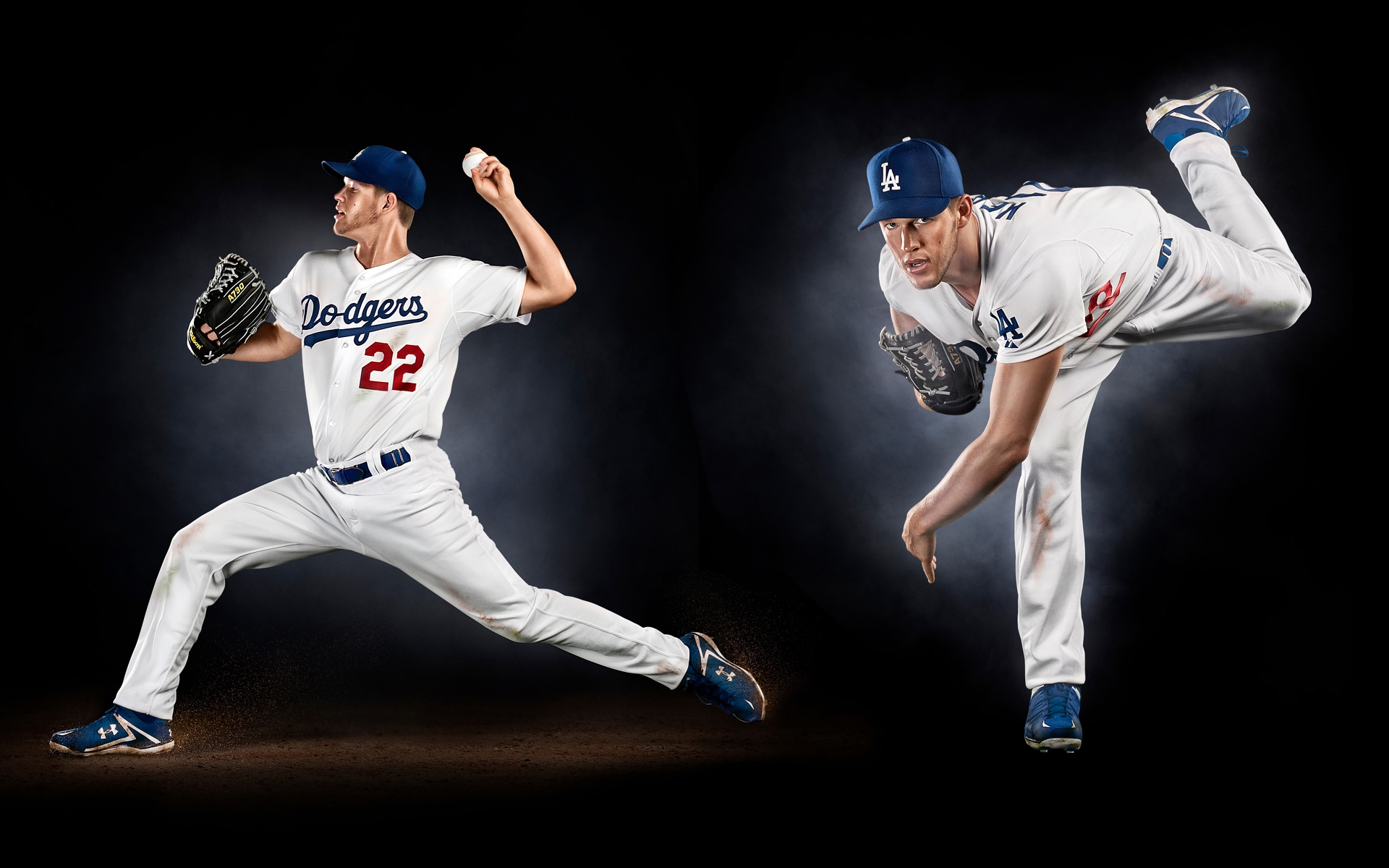 Clayton Kershaw of Los Angeles Dodgers photographed by Phoenix Photographer Blair Bunting