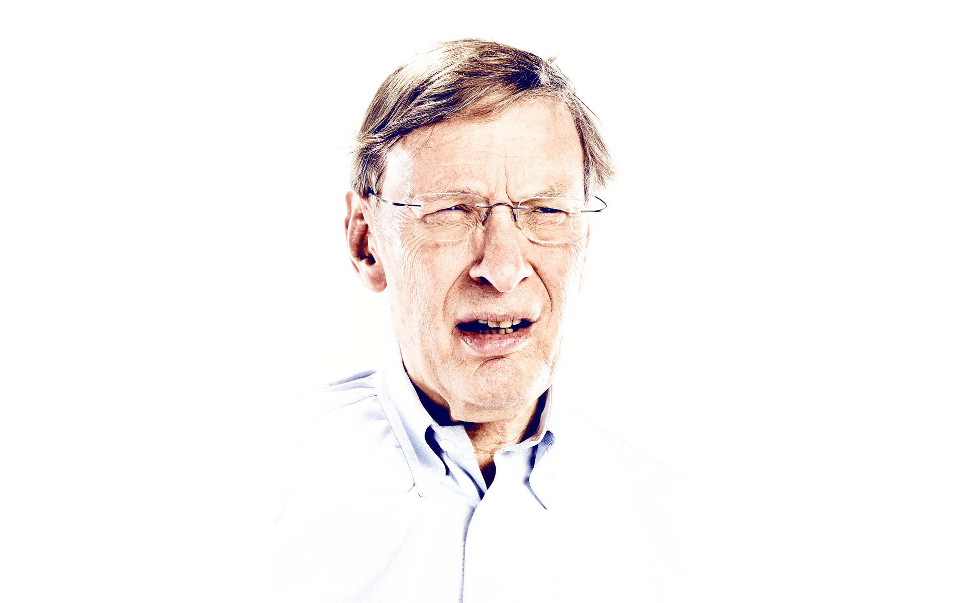 Bud Selig photographed for ESPN Magazine by Blair Bunting