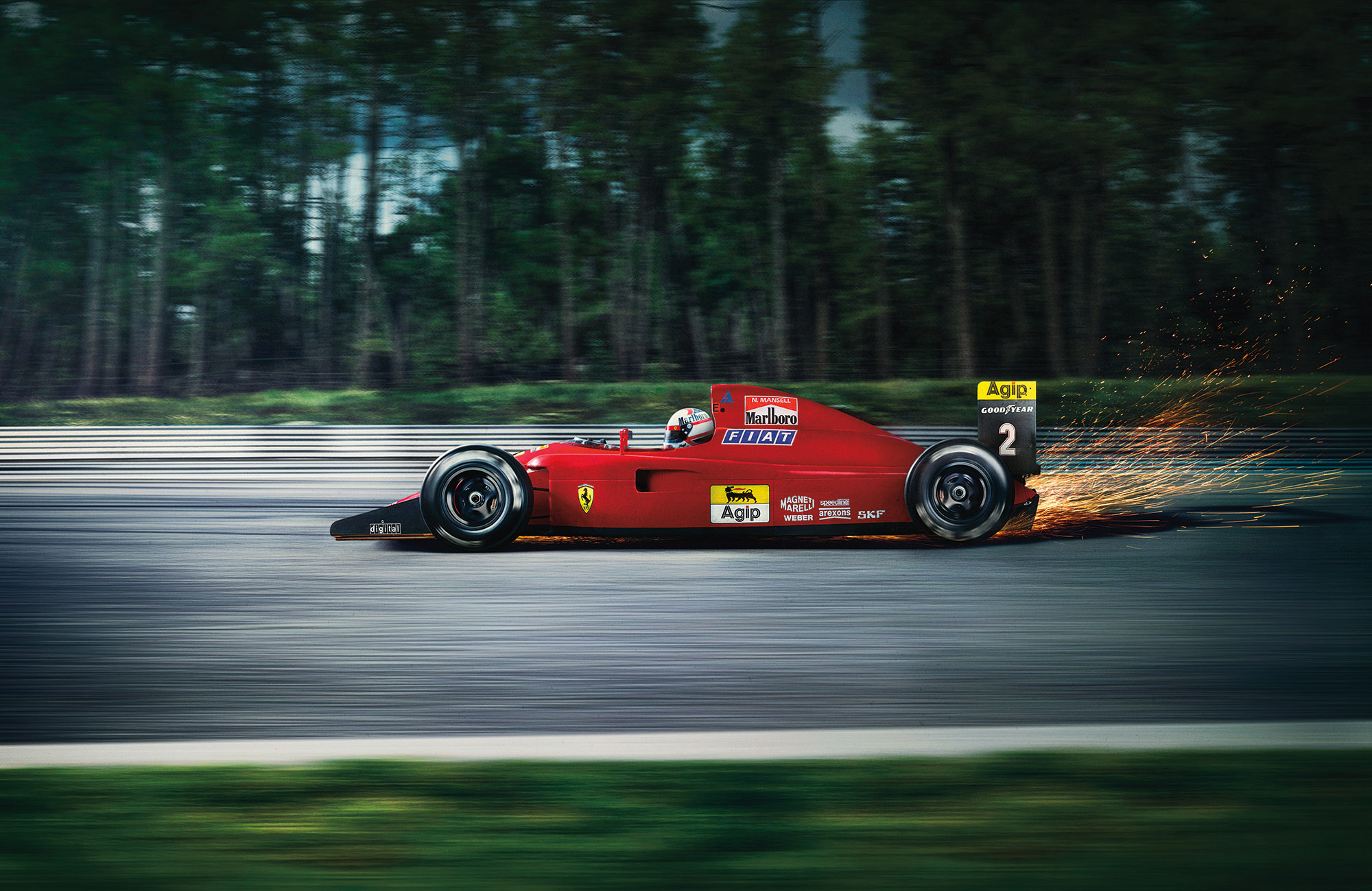 Ferrari F641 by Automotive Photographer Blair Bunting