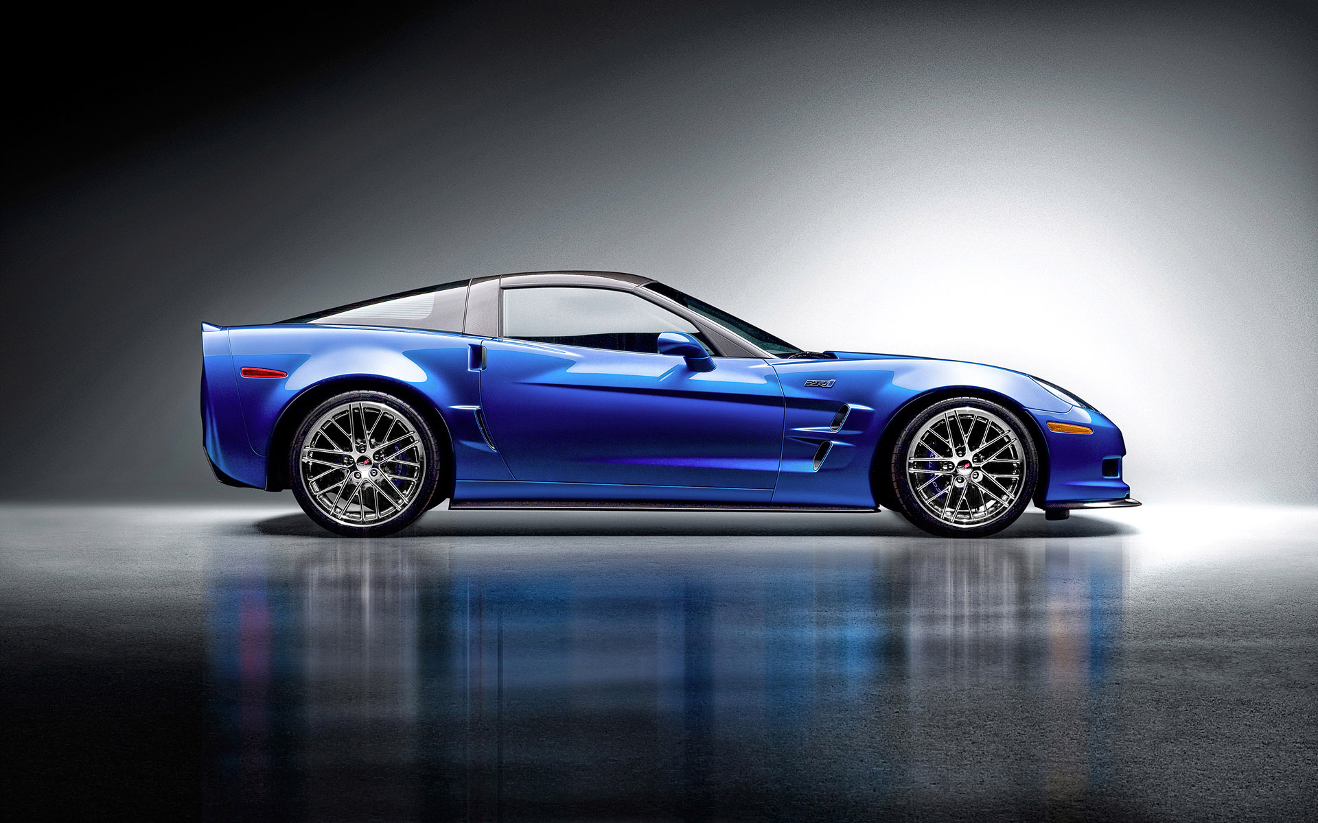 Corvette ZR1 by studio photographer Blair Bunting