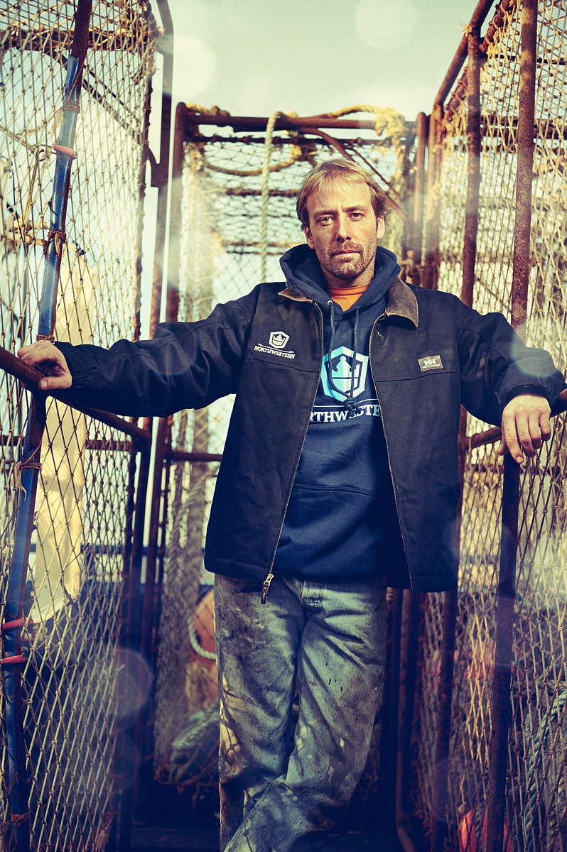 The Deadliest Catch on location by photographer Blair Bunting