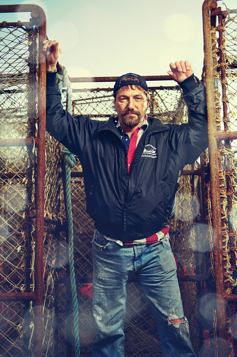 Captain Johnathan of the Deadliest Catch on Location