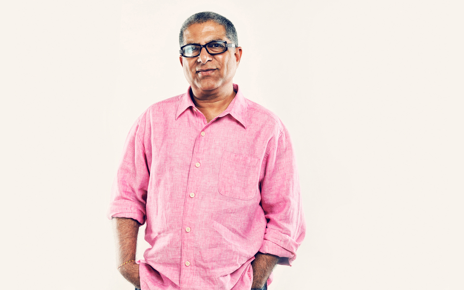 Deepak Chopra by celebrity portrait photographer