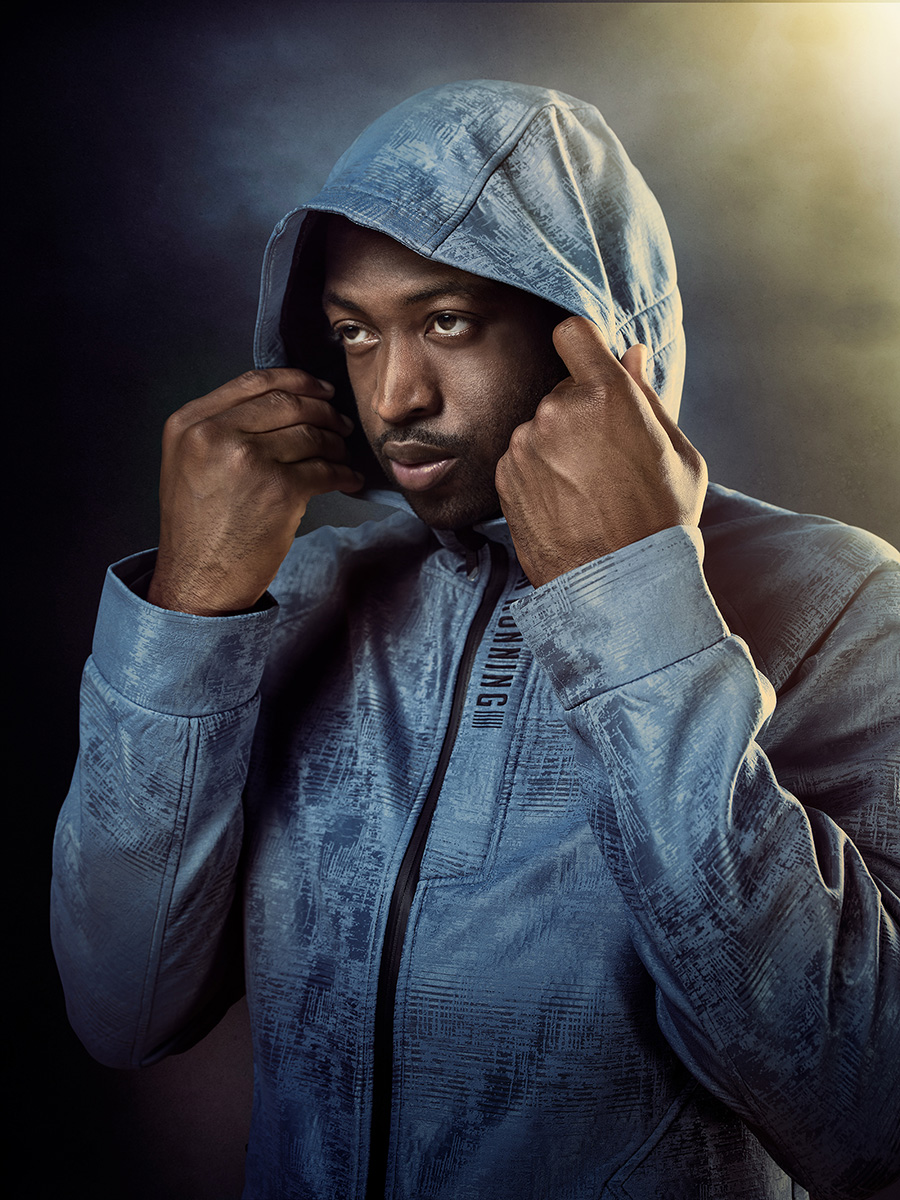 Dwyane Wade Photographed by Blair Bunting