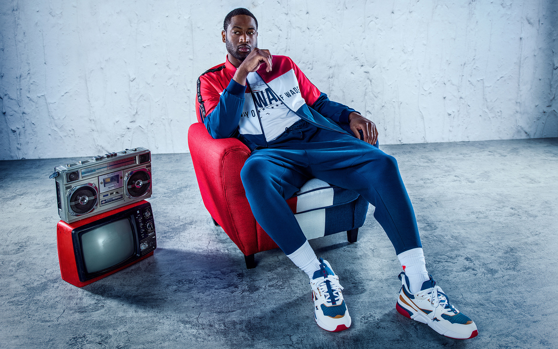 Dwyane Wade photographed by Arizona Advertising Photographer Blair Bunting