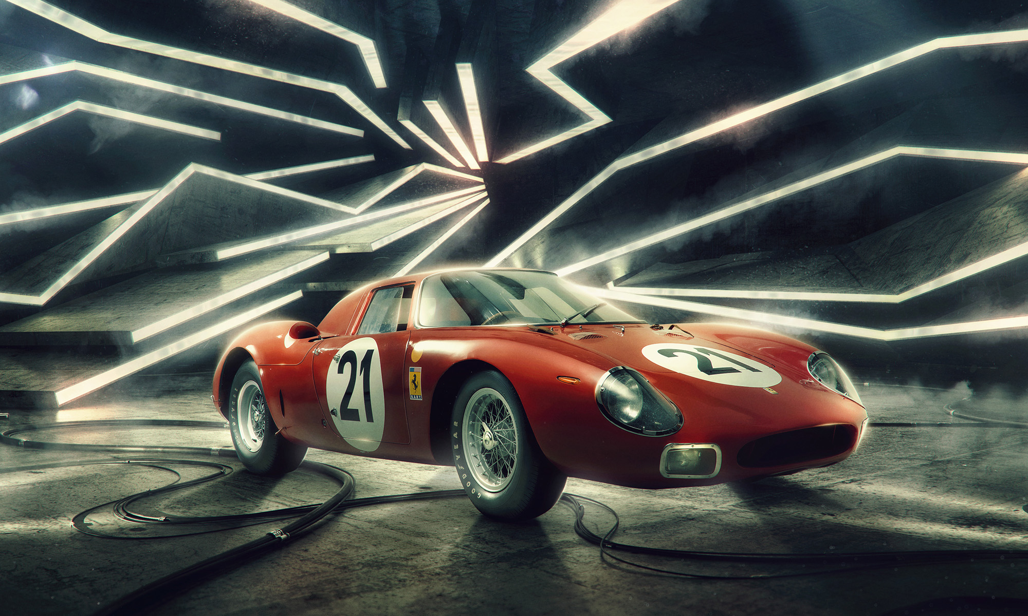Ferrari 250 LM by Car Photographer Blair Bunting
