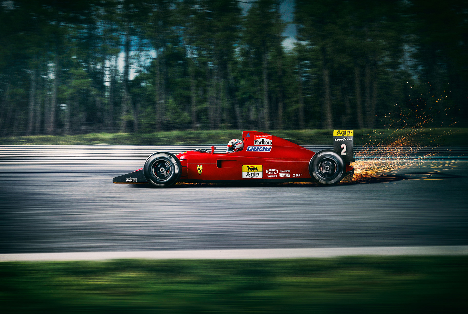 Ferrari F641 photographed by Commercial Photographer
