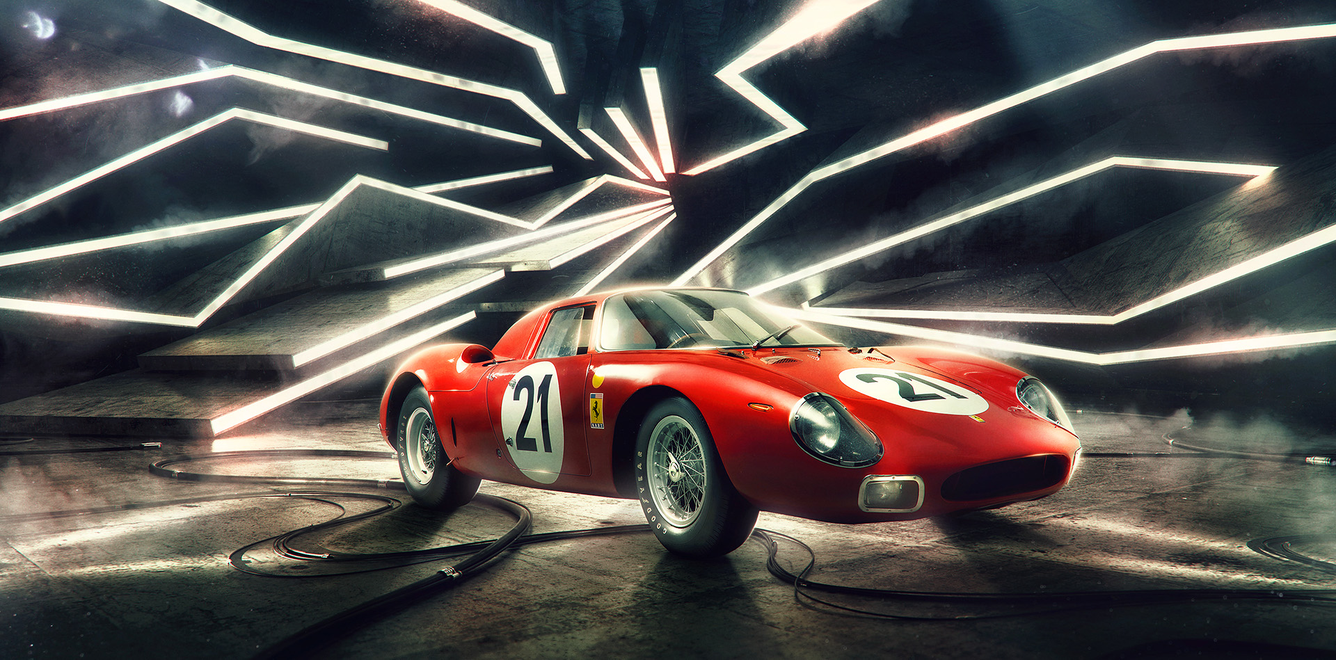 Lemans Ferrari Photographed by Blair Bunting