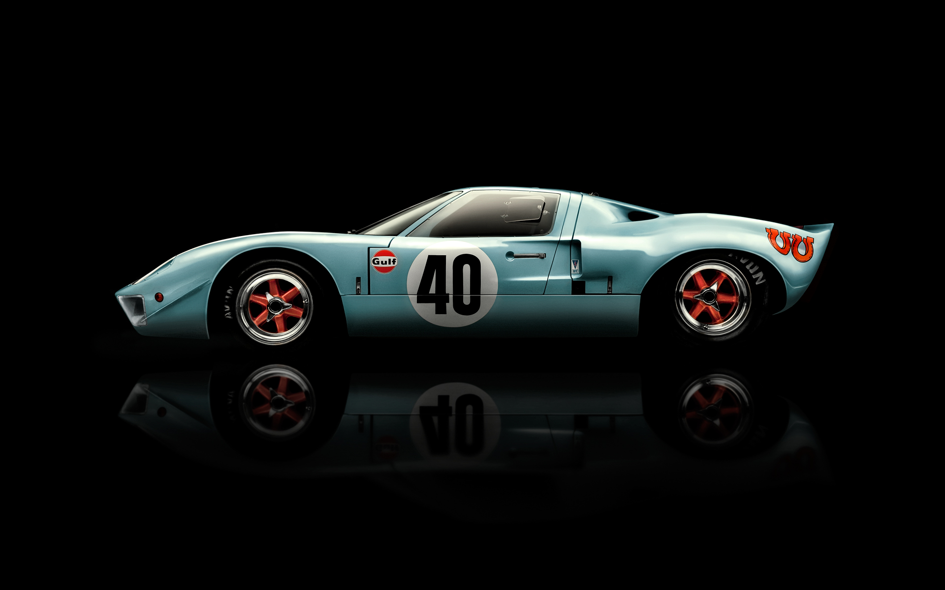 Ford GT40 Photographer by Commercial Photographer Blair Bunting