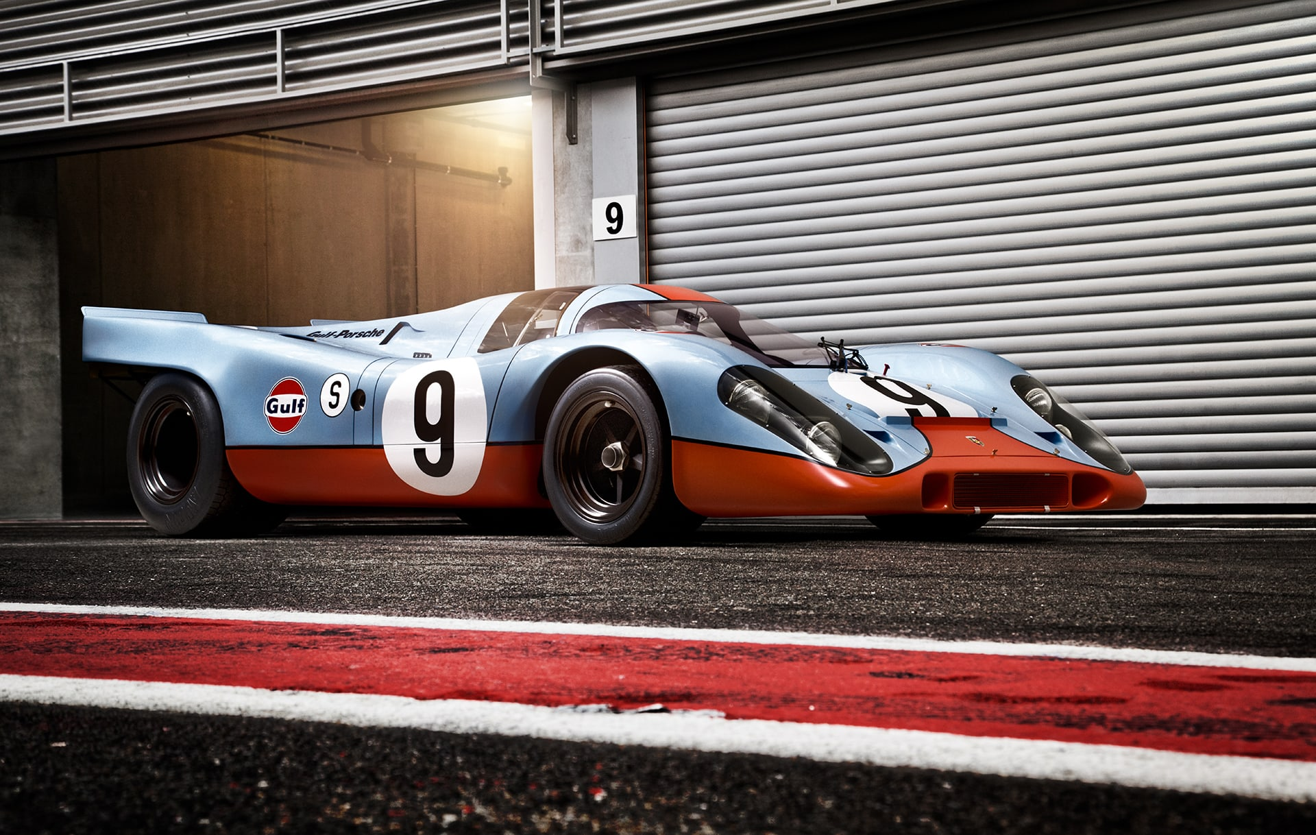 Porsche 917 Photographed by Automotive Photographer Blair Bunting