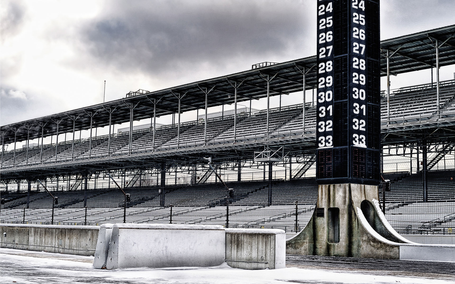 Indianapolis Motor Speedway on location photoshoot