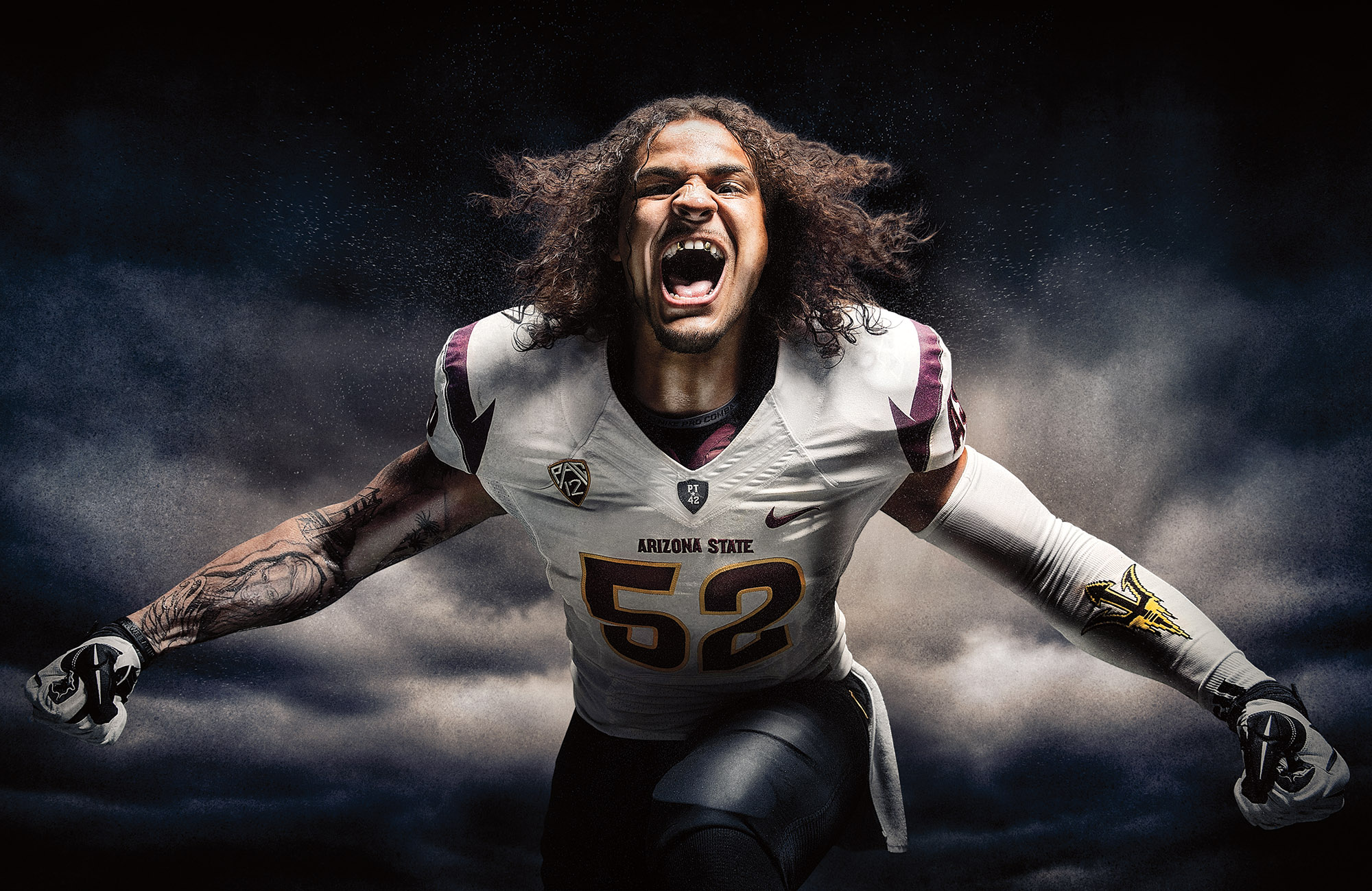 Arizona State Football campaign by Blair Bunting