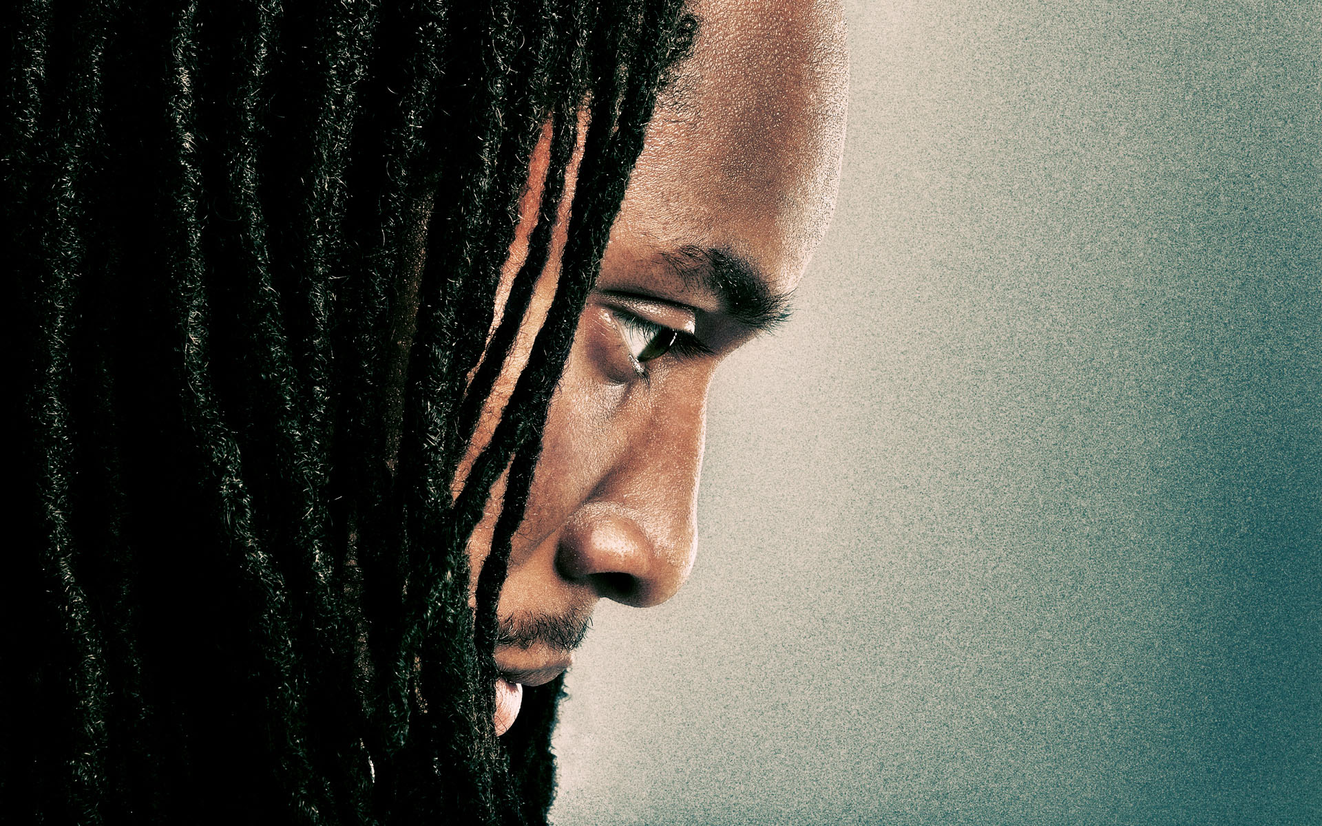 Larry Fitzgerald Portrait photograph by Blair Bunting