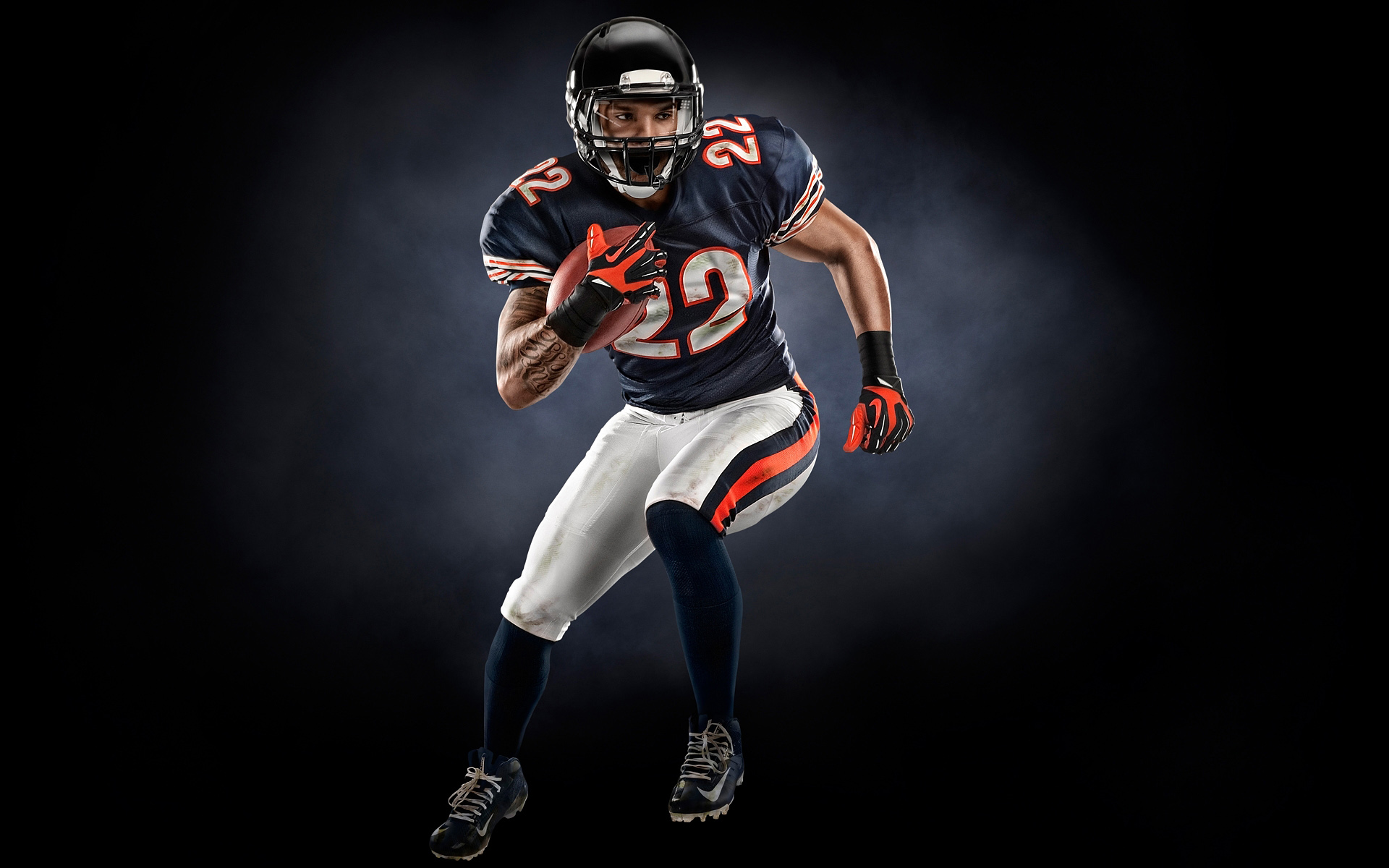Matt Forte photoshoot by Blair Bunting