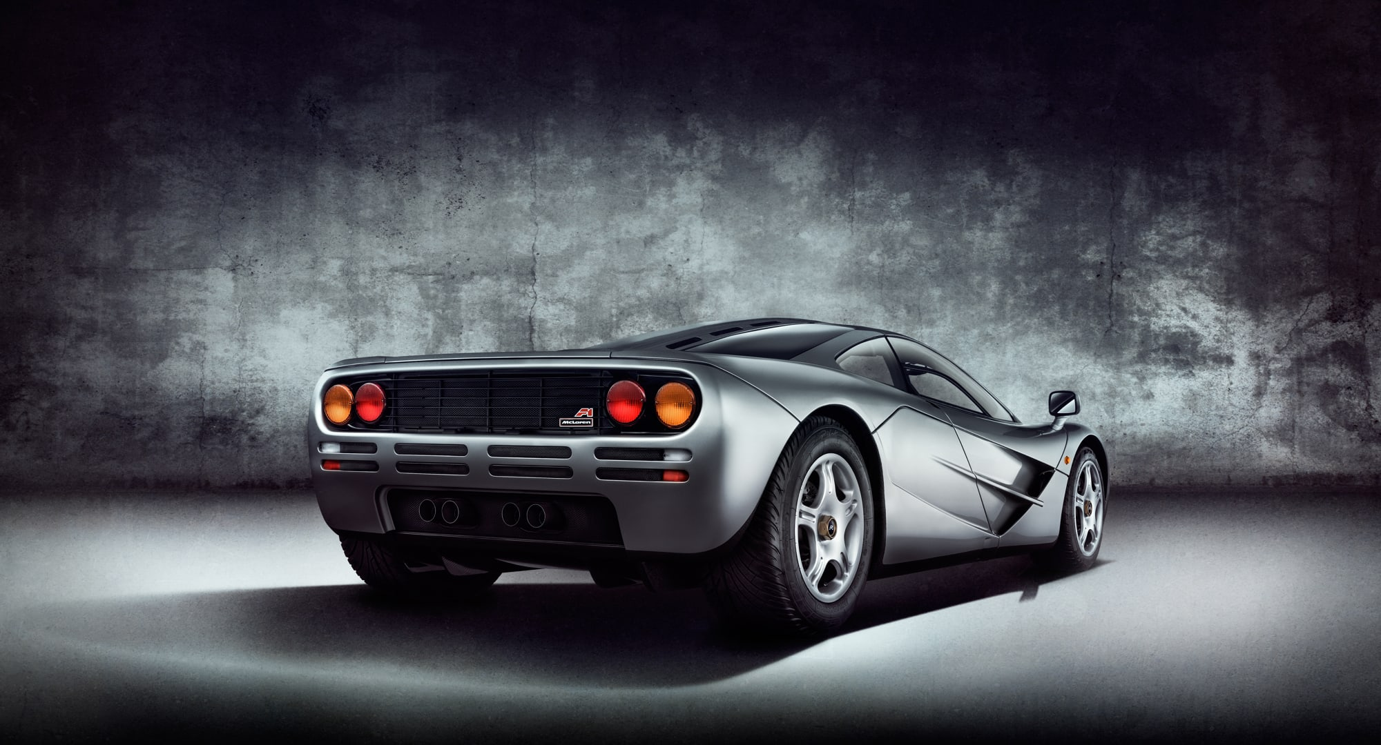 McLaren F1 photographed in studio by Automotive Photographer Blair Bunting