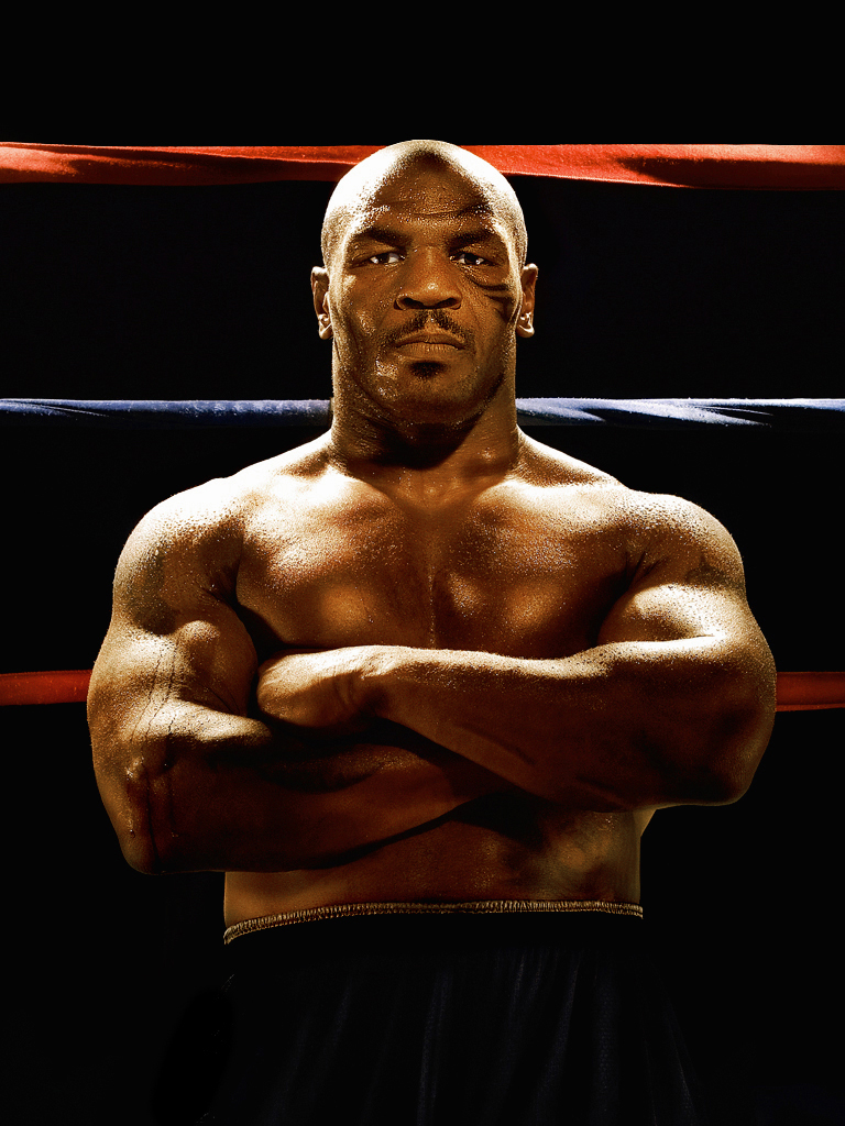 Mike Tyson Photographed by Advertising Photographer Blair Bunting Celebrity