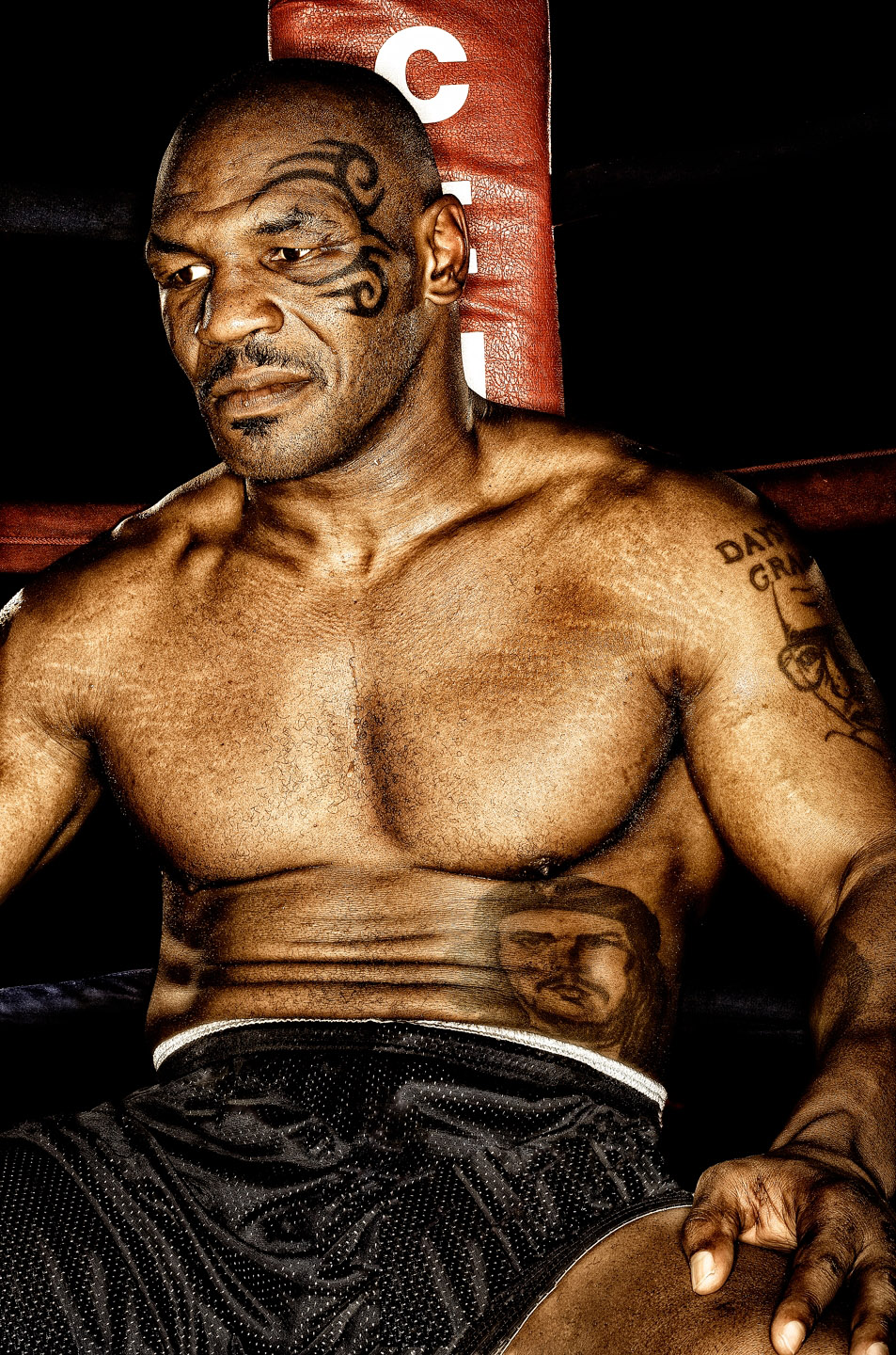 Mike Tyson by Los Angeles Celebrity Photographer