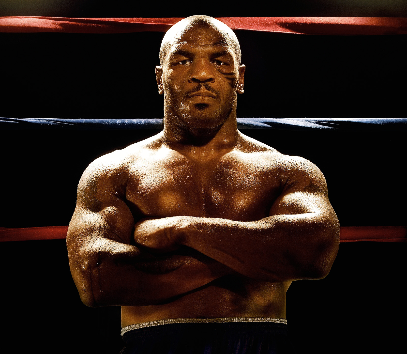 Mike Tyson by Celebrity Photographer Blair Bunting