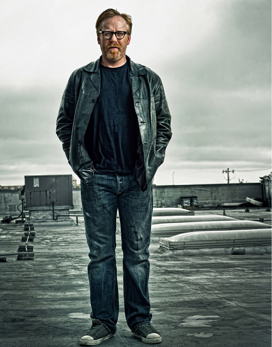 Mythbusters Photoshoot for Discovery Channel