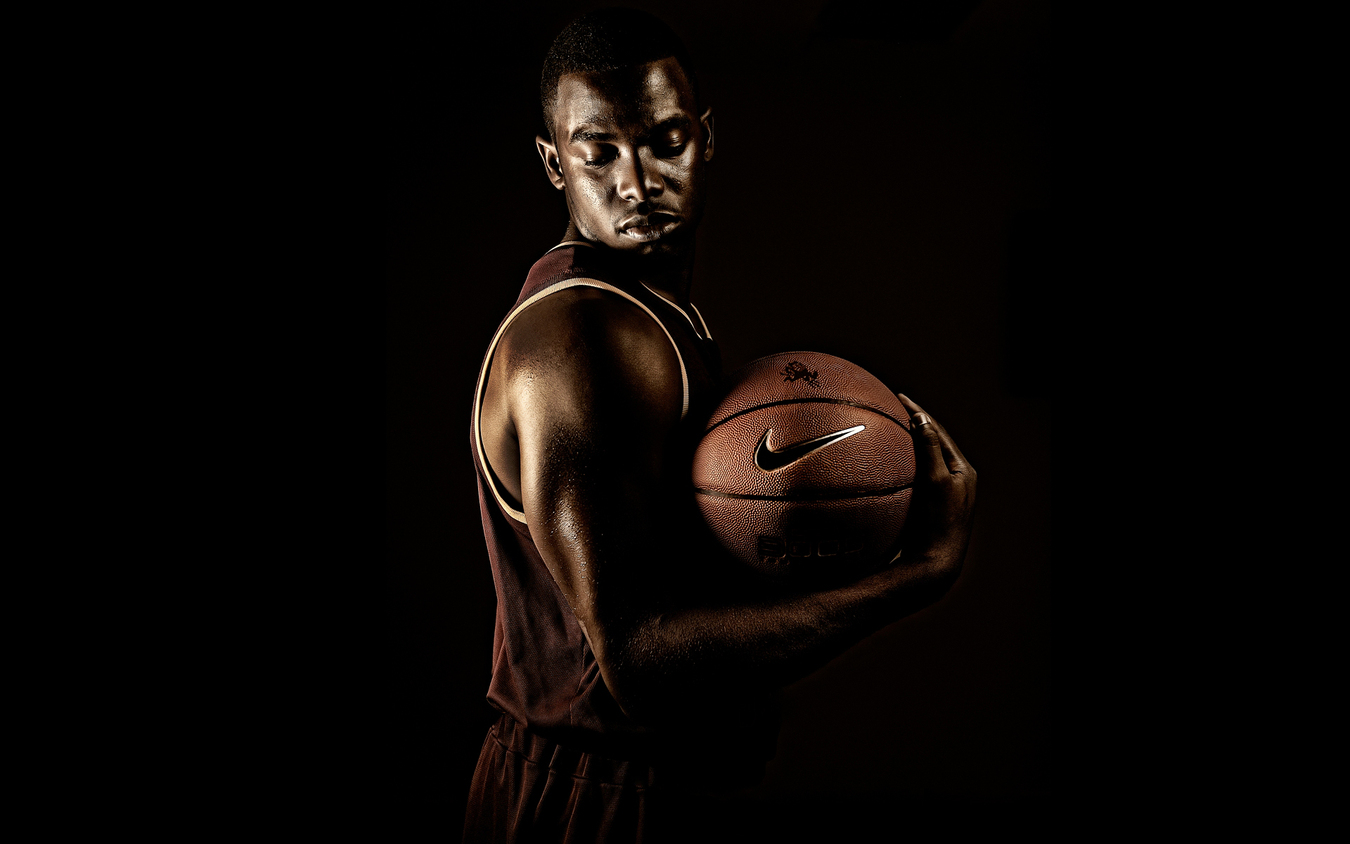 Nike Basketball Campaign photographed by Blair Bunting