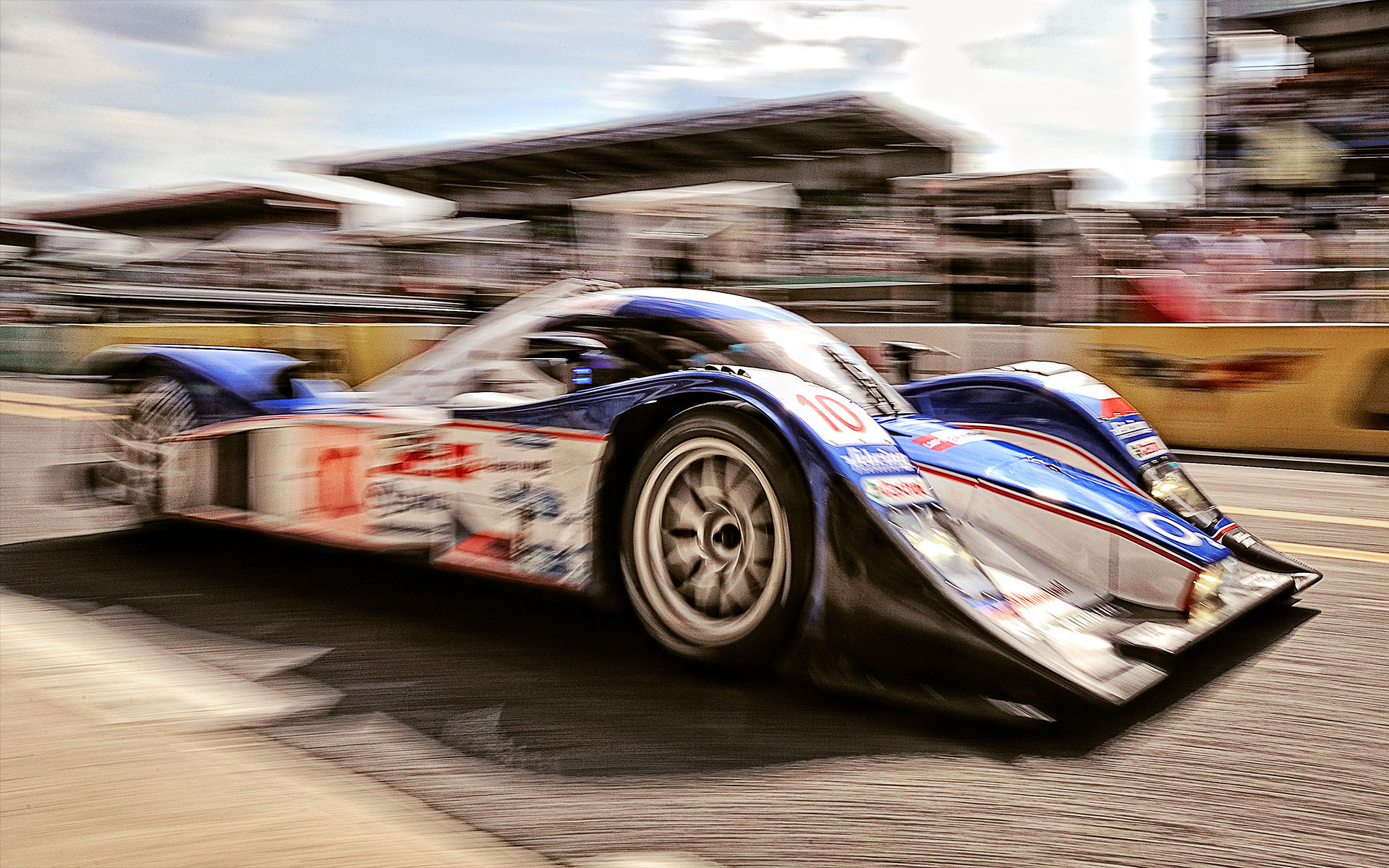 Le Mans Editorial Photoshoot by Blair Bunting