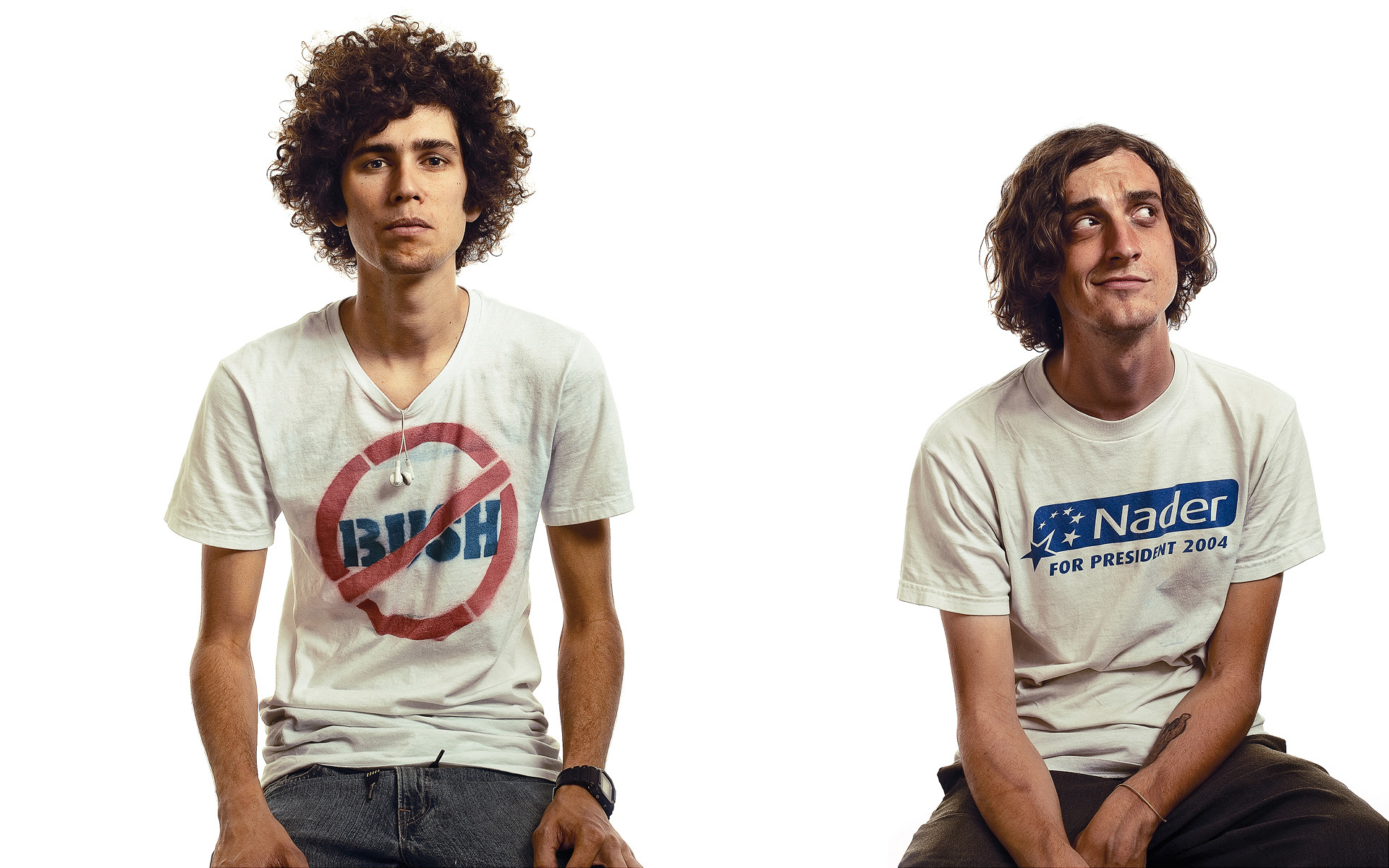Political Protesters photographed for Rolling Stone