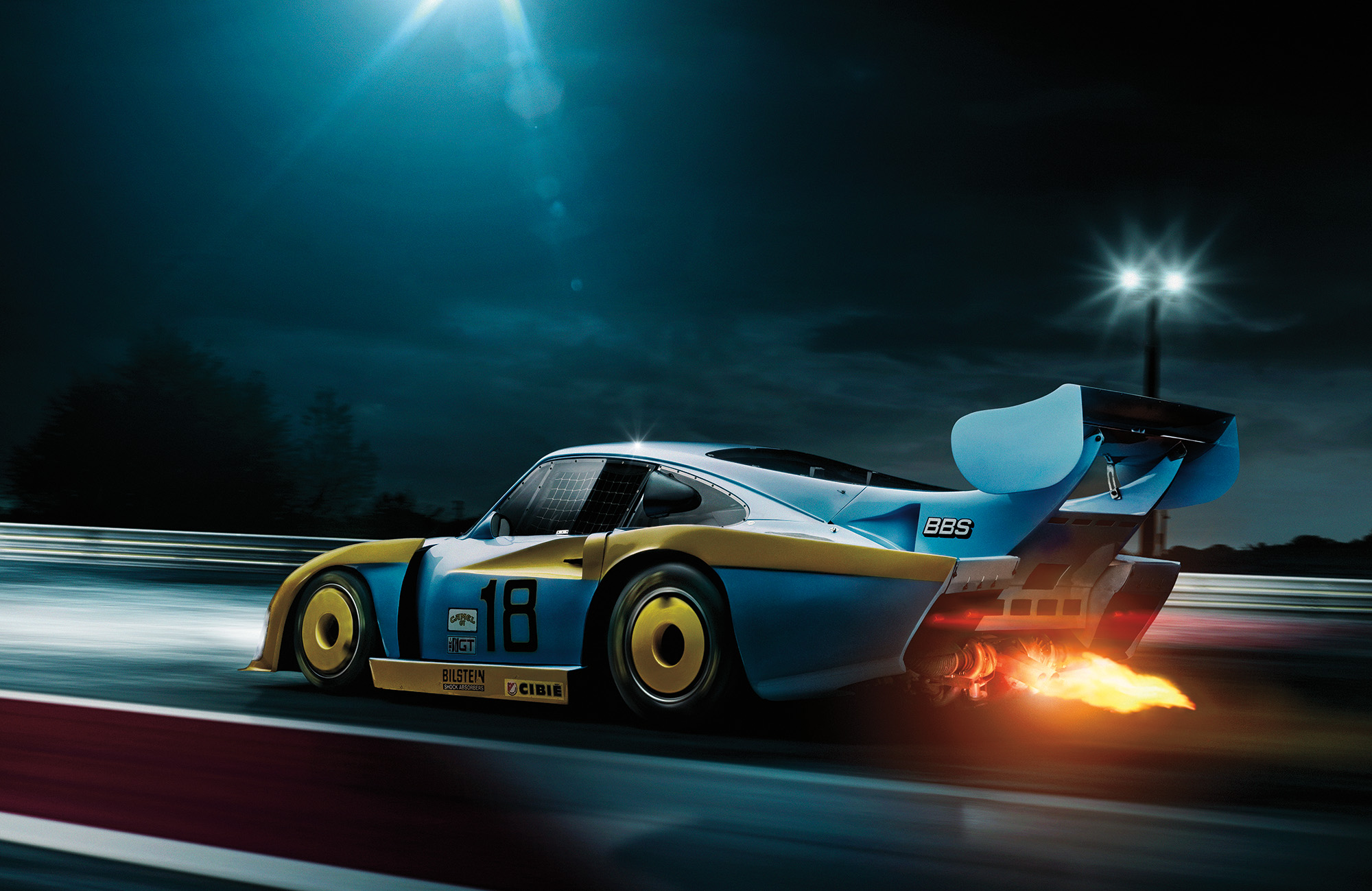 Automotive CGI photography by Blair Bunting
