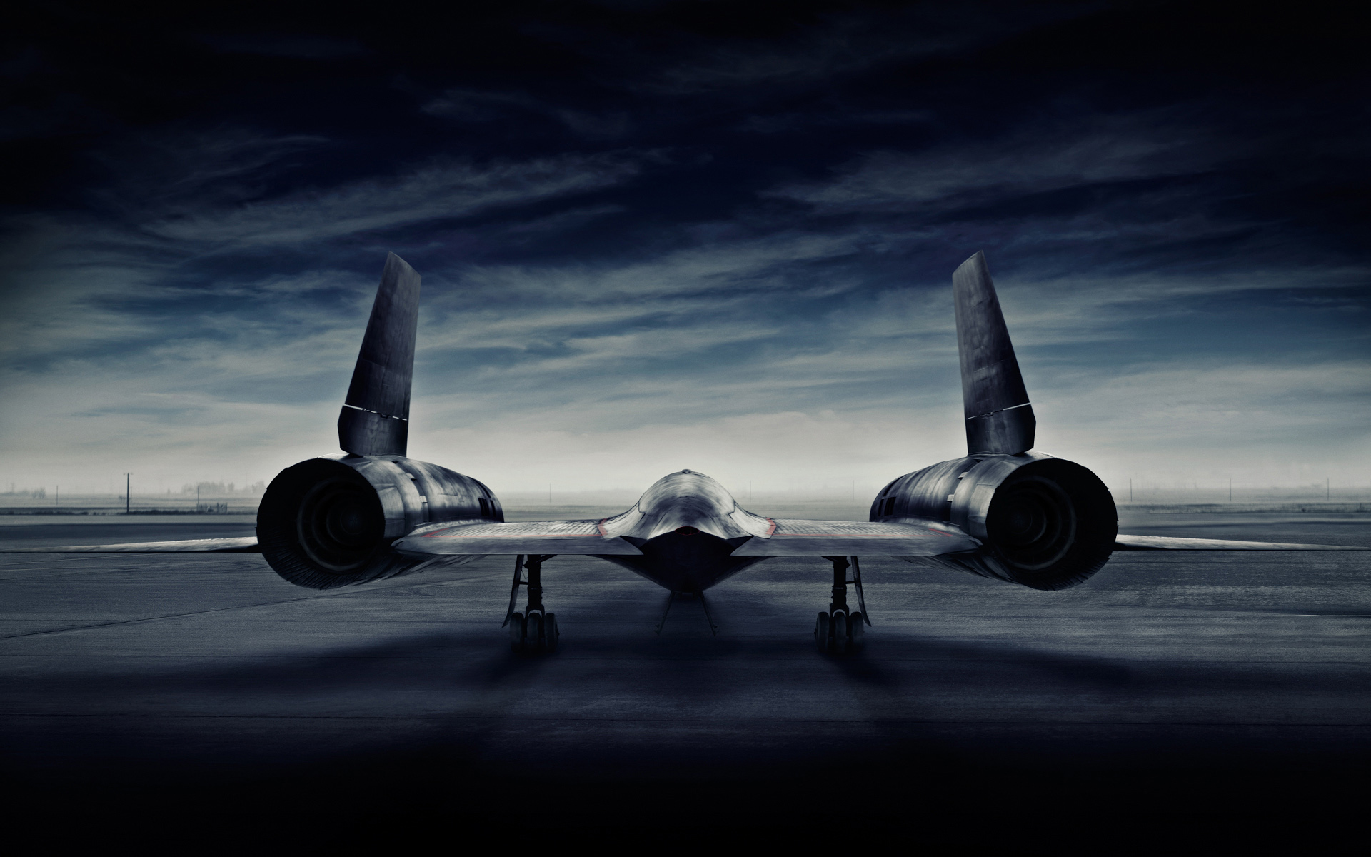 SR71 Blackbird photographed by Advertising Photographer
