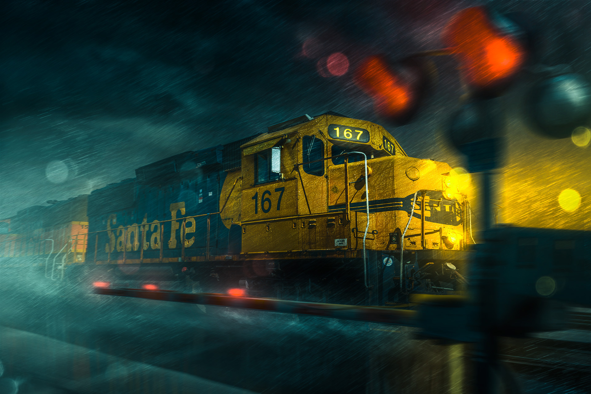 Arizona Advertising Photographer Blair Bunting Freight Train