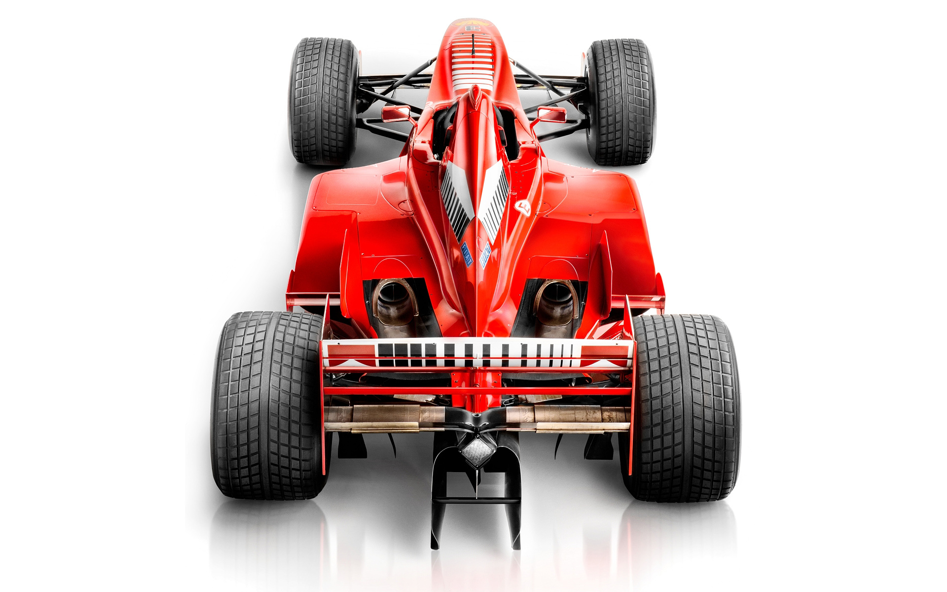 Michael Schumacher F1 car by Blair Bunting