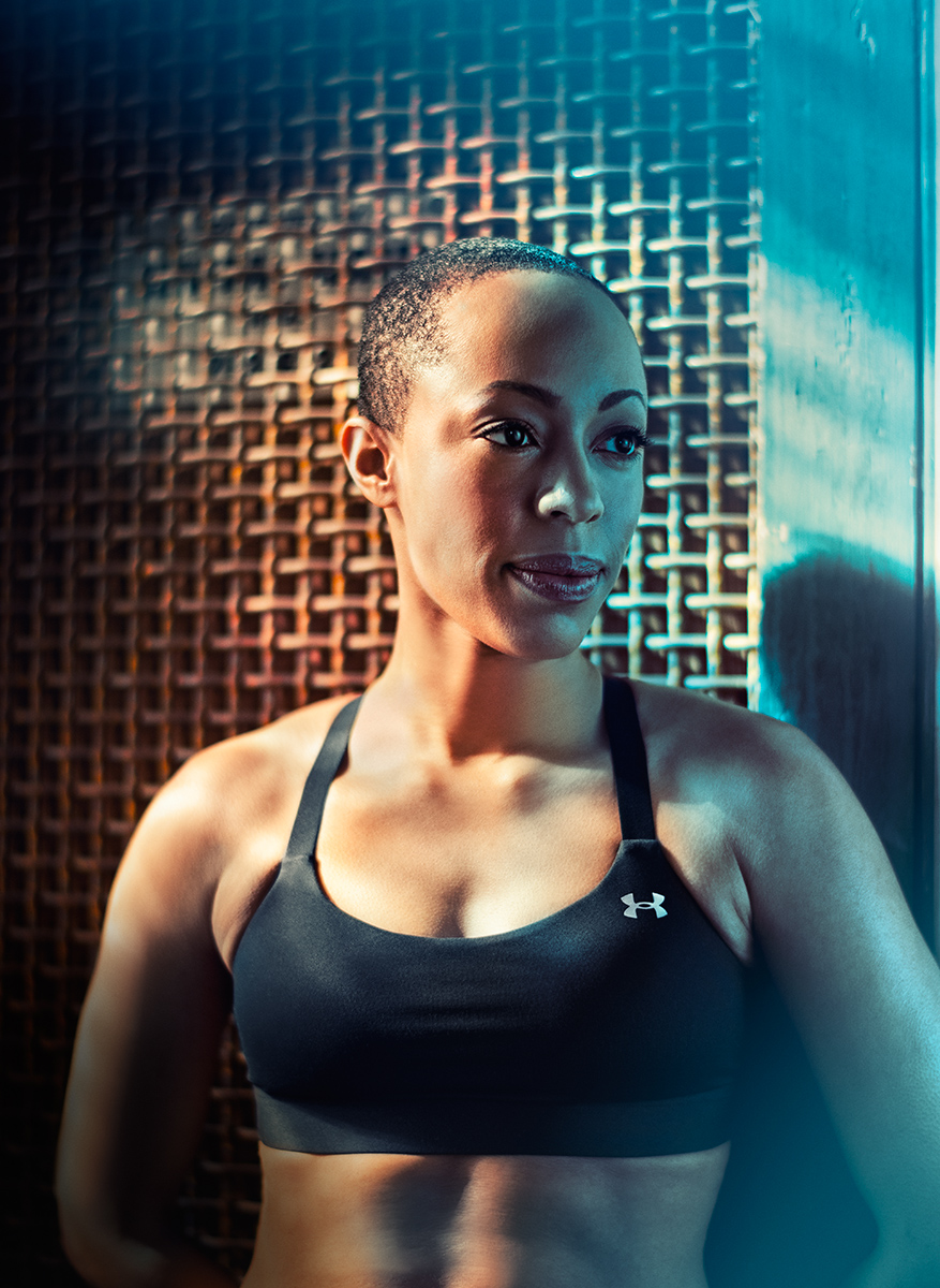 Female fitness campaign by Sports Photographer Blair Bunting