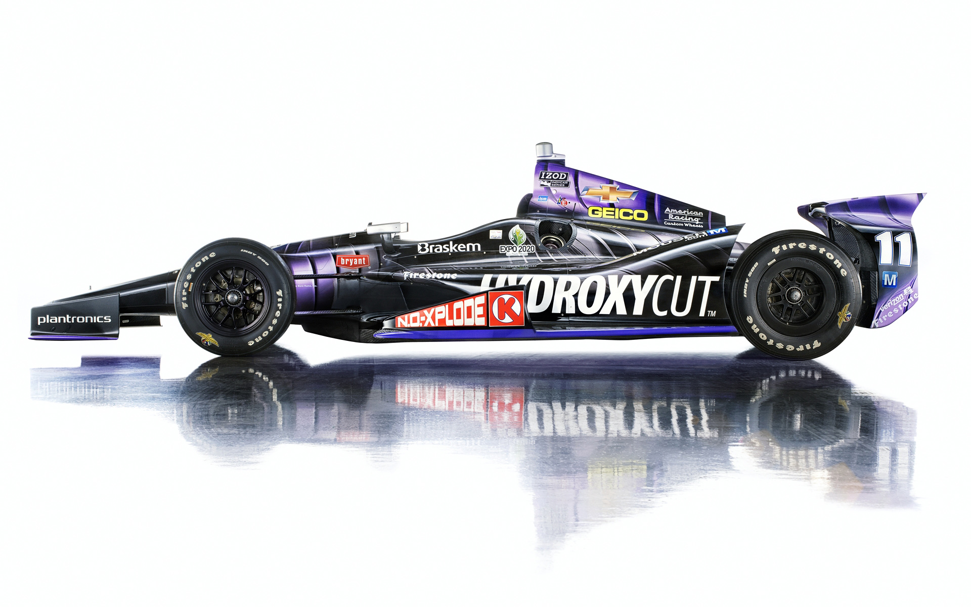 Tony Kanaan Indy 500 winning car