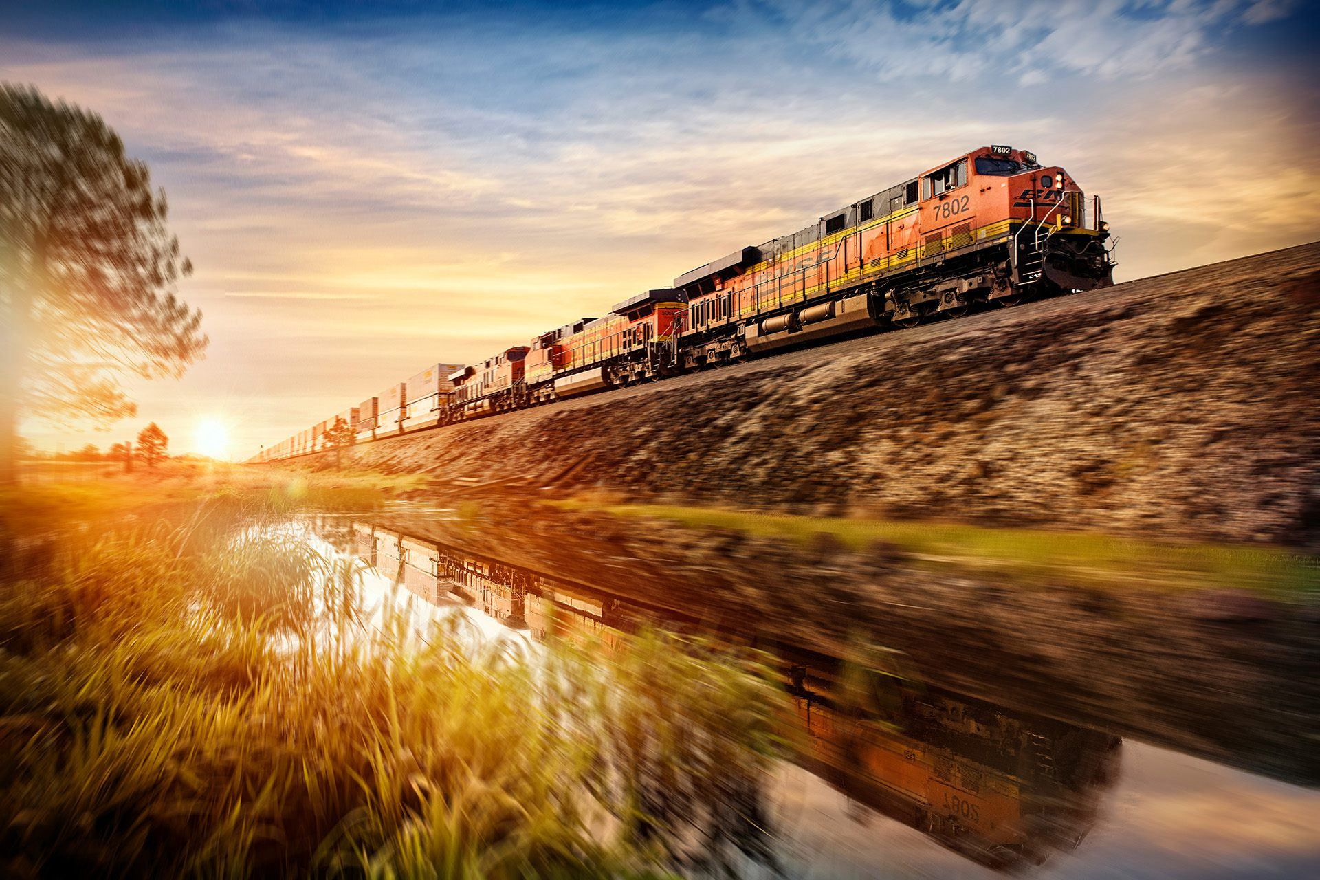 Arizona Commercial Photographer Blair Bunting Freight Train