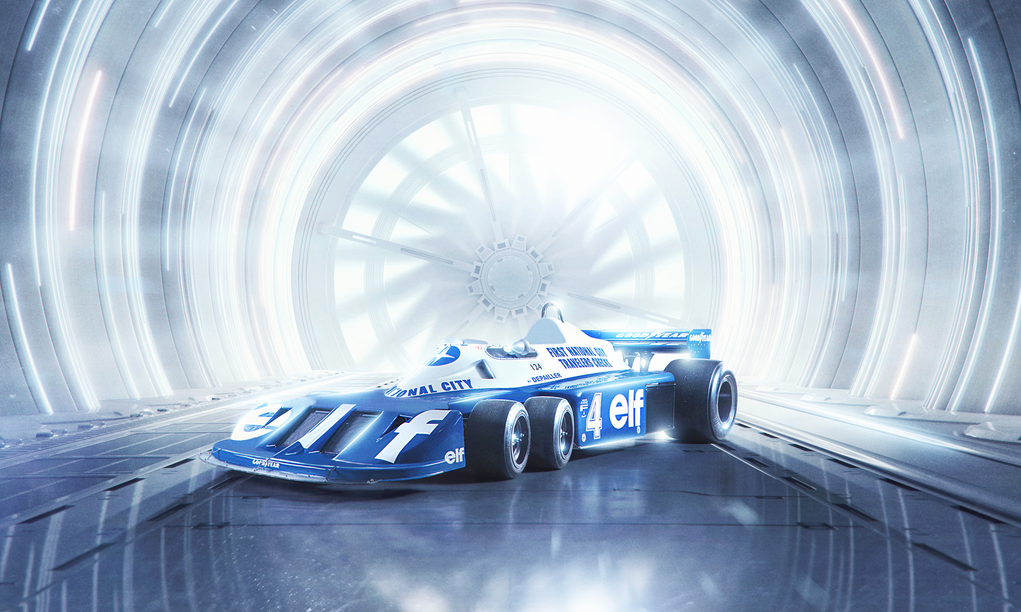 Tyrrell 6 wheel Formula 1 Car by Blair Bunting