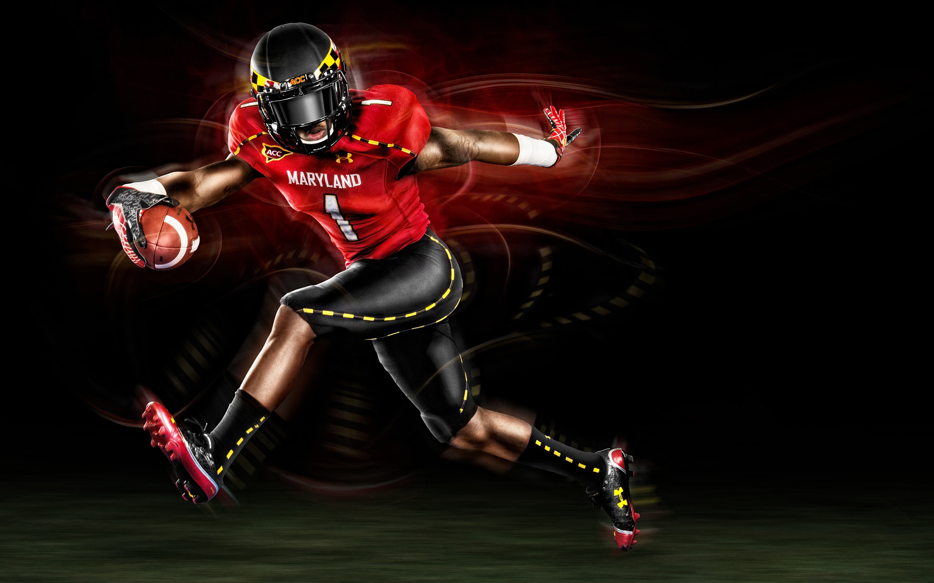 Under Armour Football Advertising